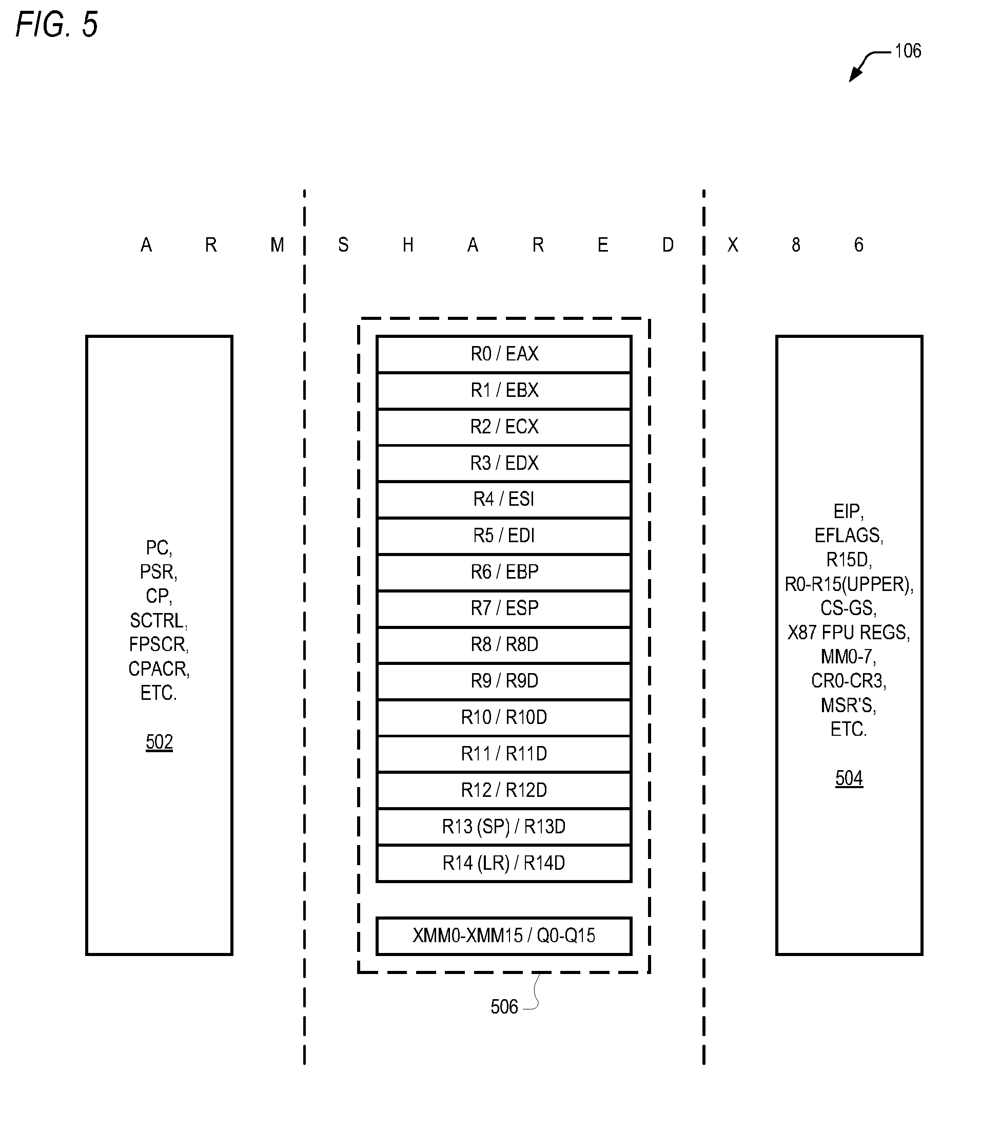 x86 instruction set architecture