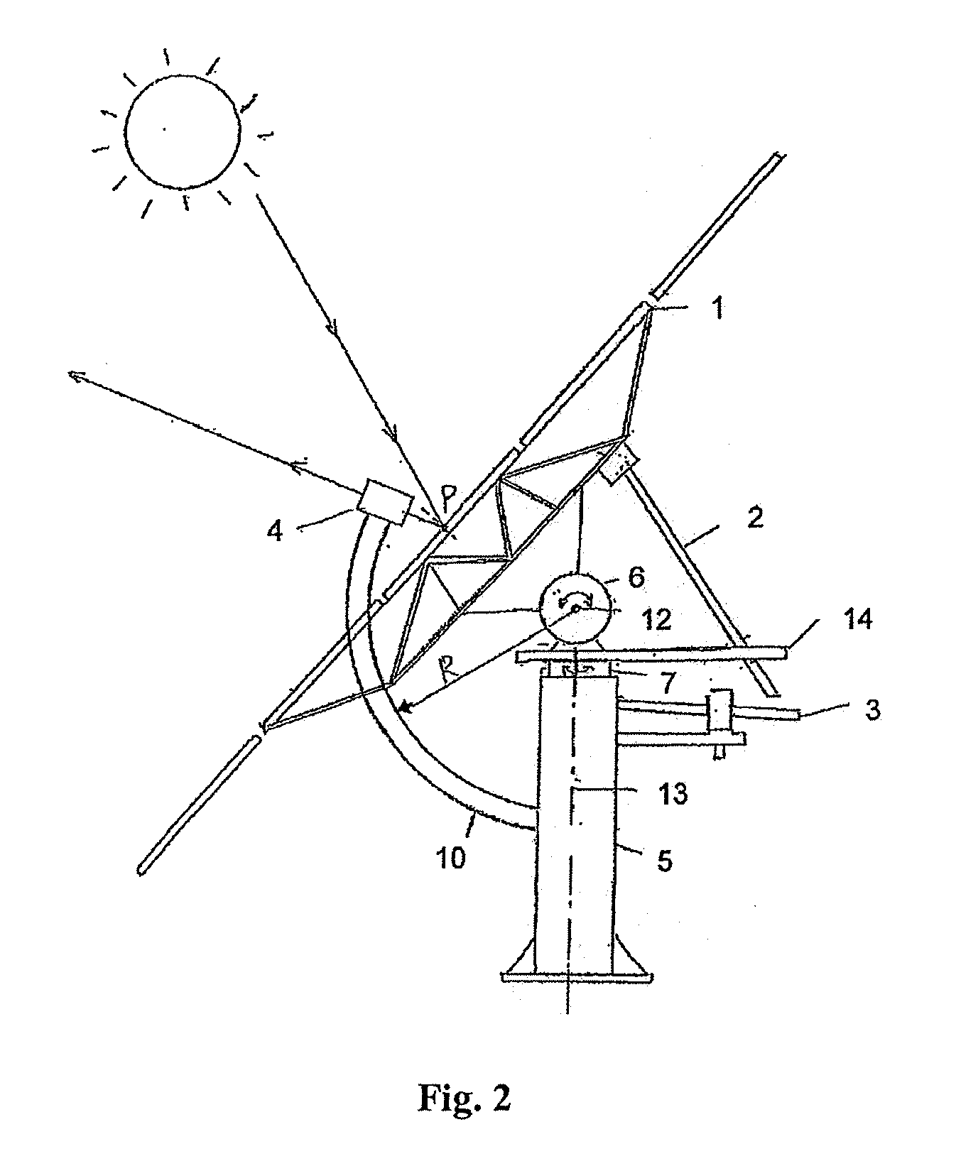 patent ep2515051a1 - heliostat device