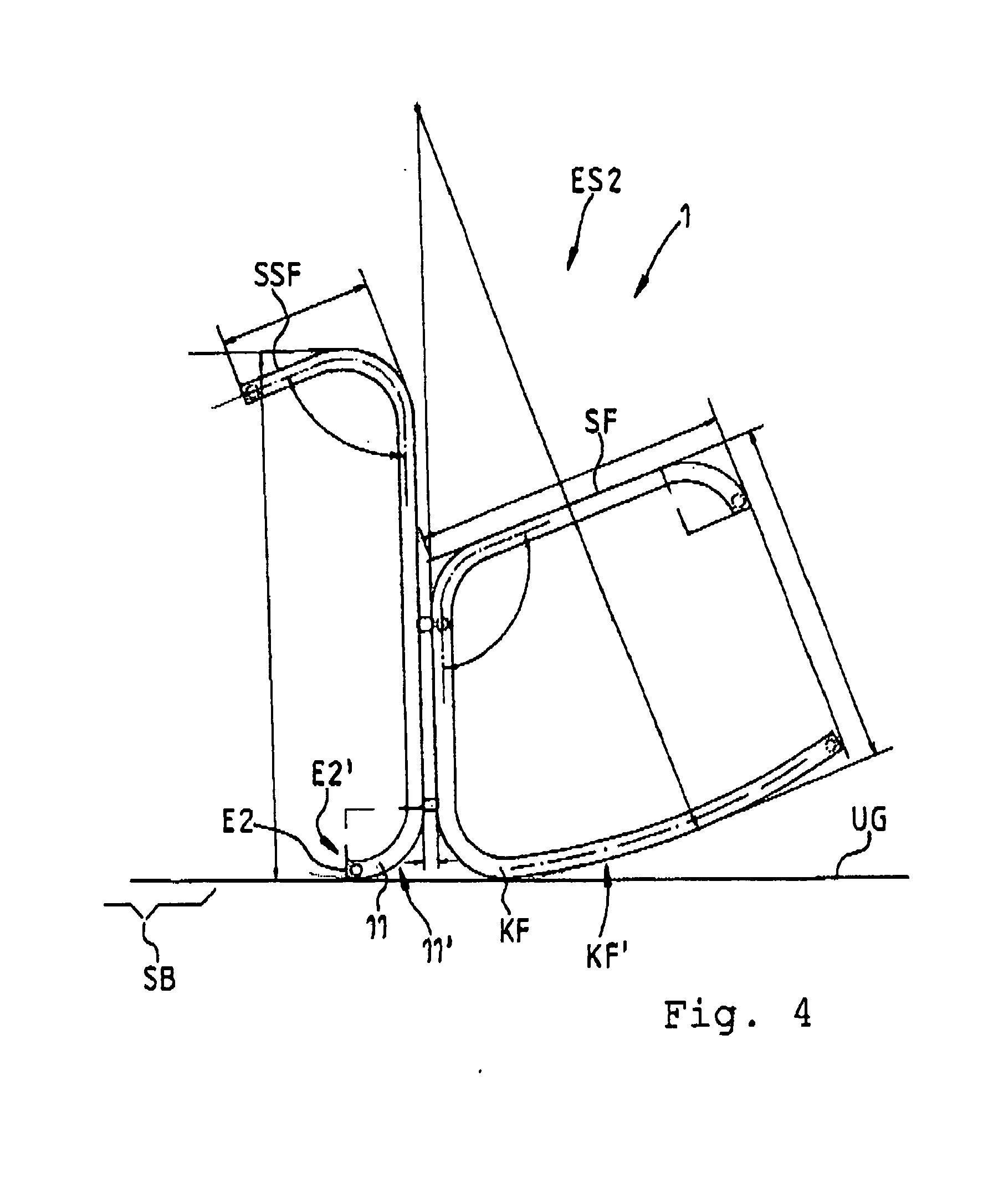 Patent ep2543281a1 stuhl und stehsitz m bel google patents for Stuhl design dwg