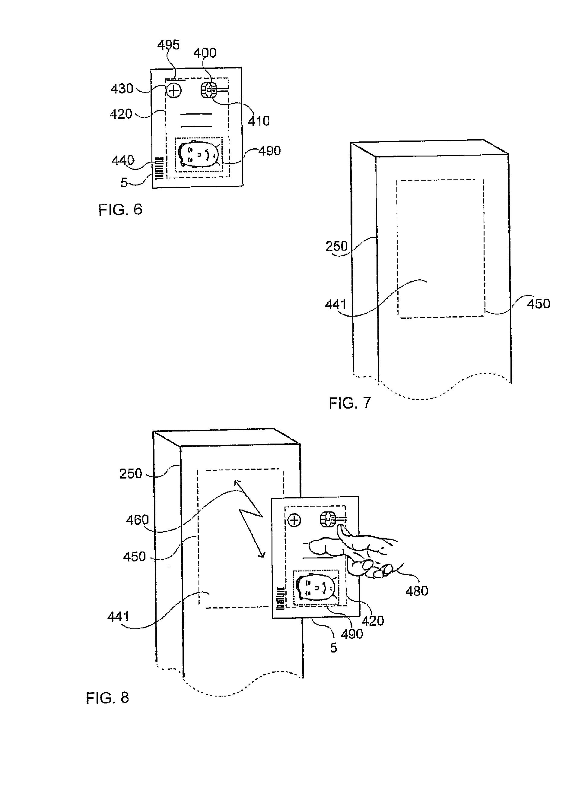 patent ep2549442a2 verfahren f r die kommunikation von informationen und daten zwischen einem. Black Bedroom Furniture Sets. Home Design Ideas