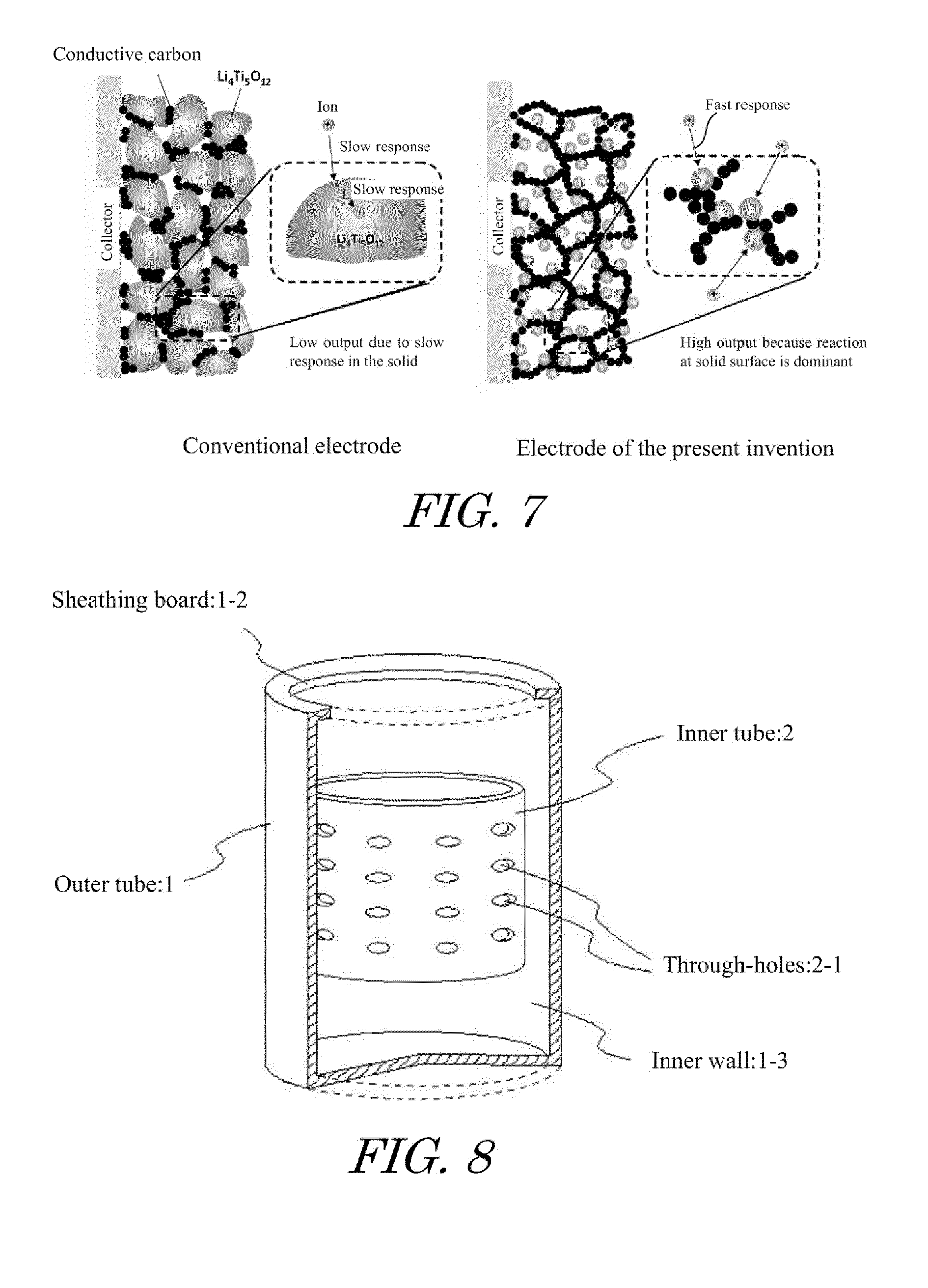 patent ep2554517a1 lithium titanate nanoparticles posite of Sponge Electrodes patent drawing