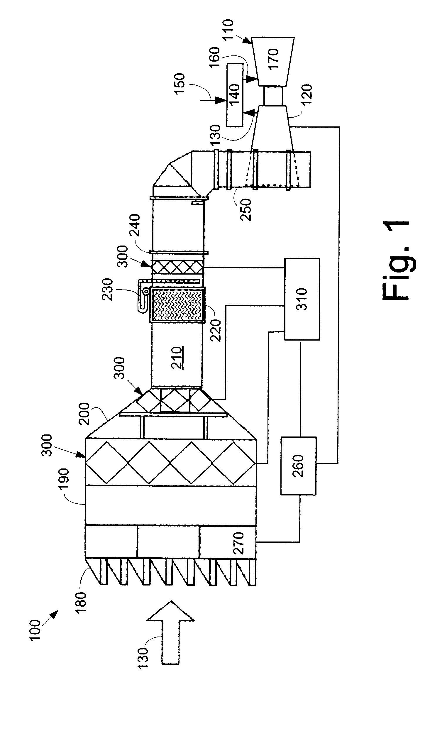 Patent EP A2 Gas turbine inlet air cooling system using