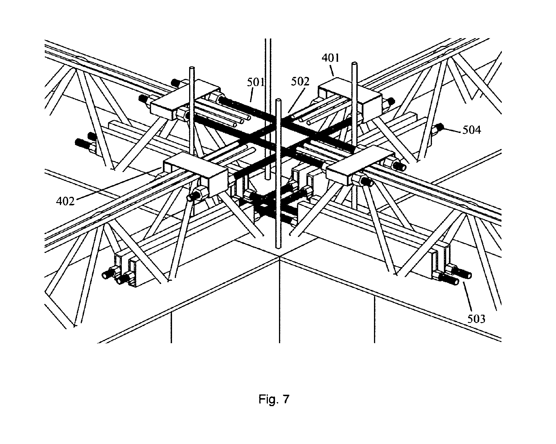 Patent Ep2586925a1 Structural Node For Steel Concrete
