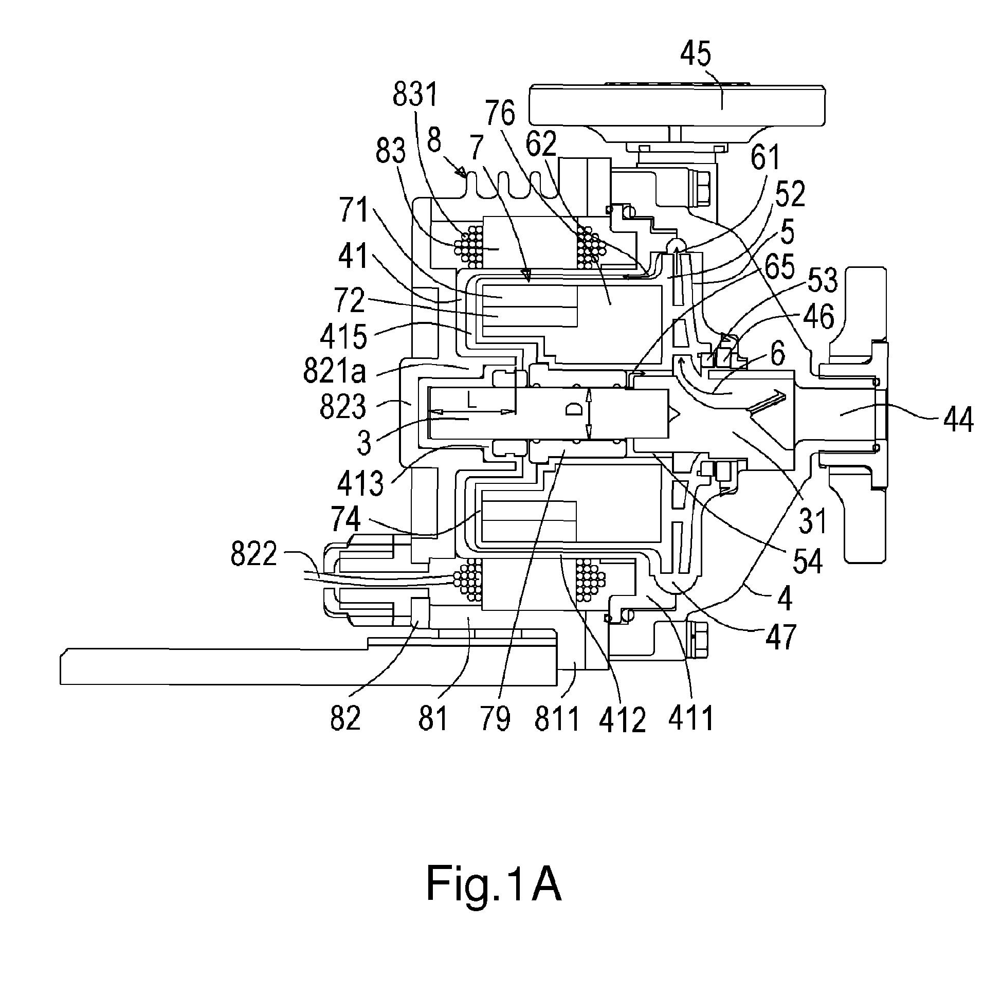 imgf0001 patent us5955880 sealless pump rotor position and bearing teikoku teikoku pump wiring diagram at downloadfilm.co