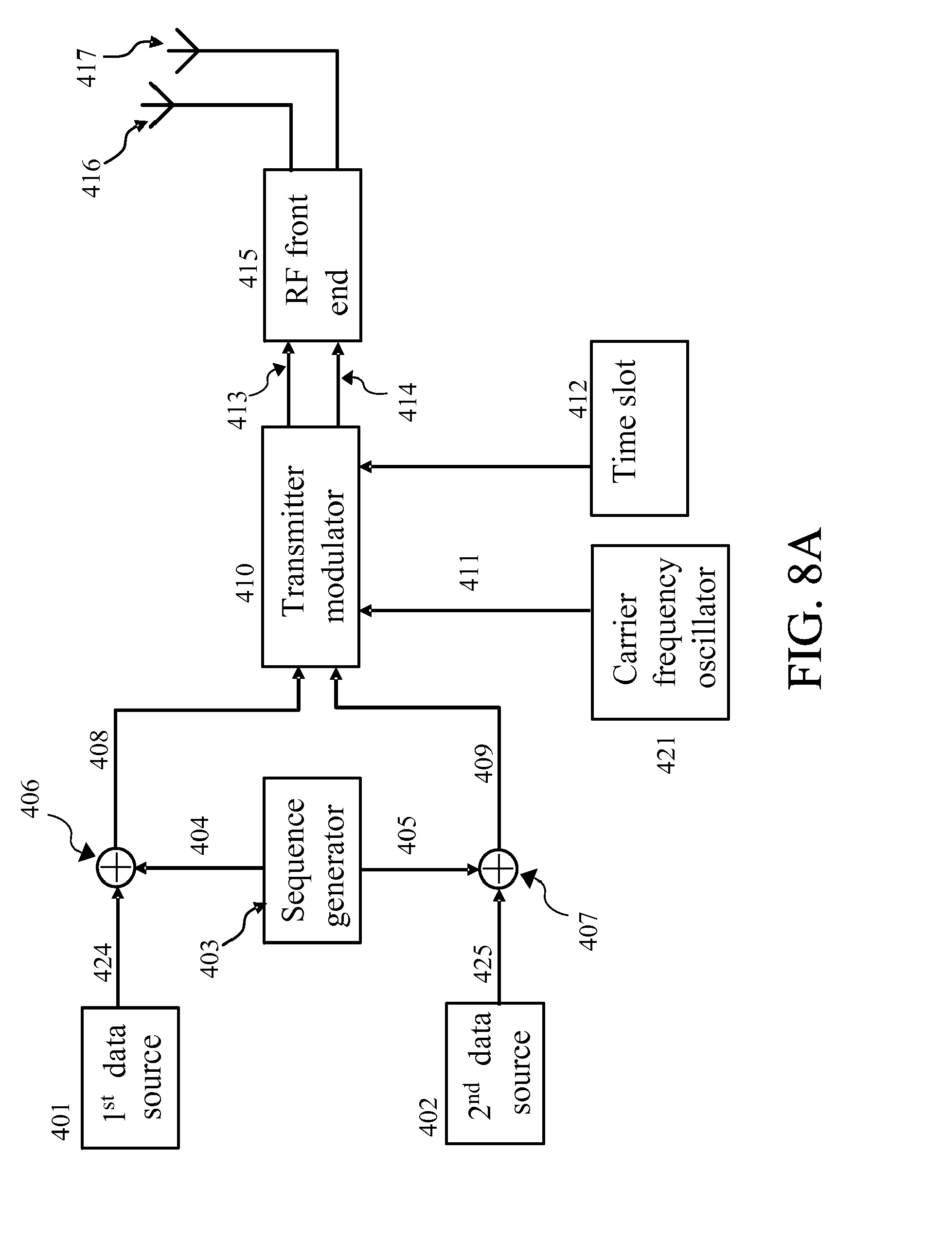 Patent Ep2645655a2 A Method And Apparatus For Signaling To Gsm Jammer Circuit Drawing