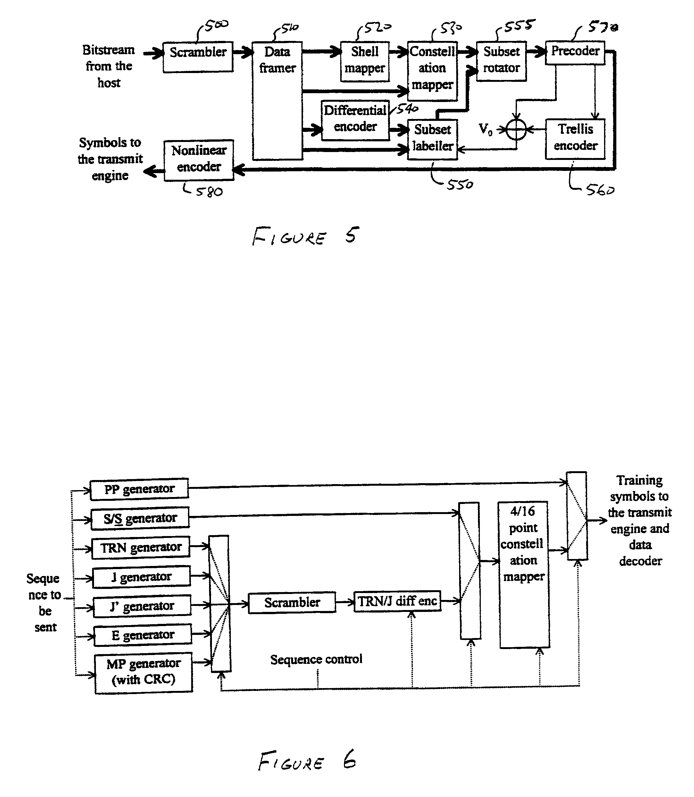 Patente Us20010011213 Modem Using A Digital Signal Processor And Remoteencoder Transmitter Circuit Patent Drawing