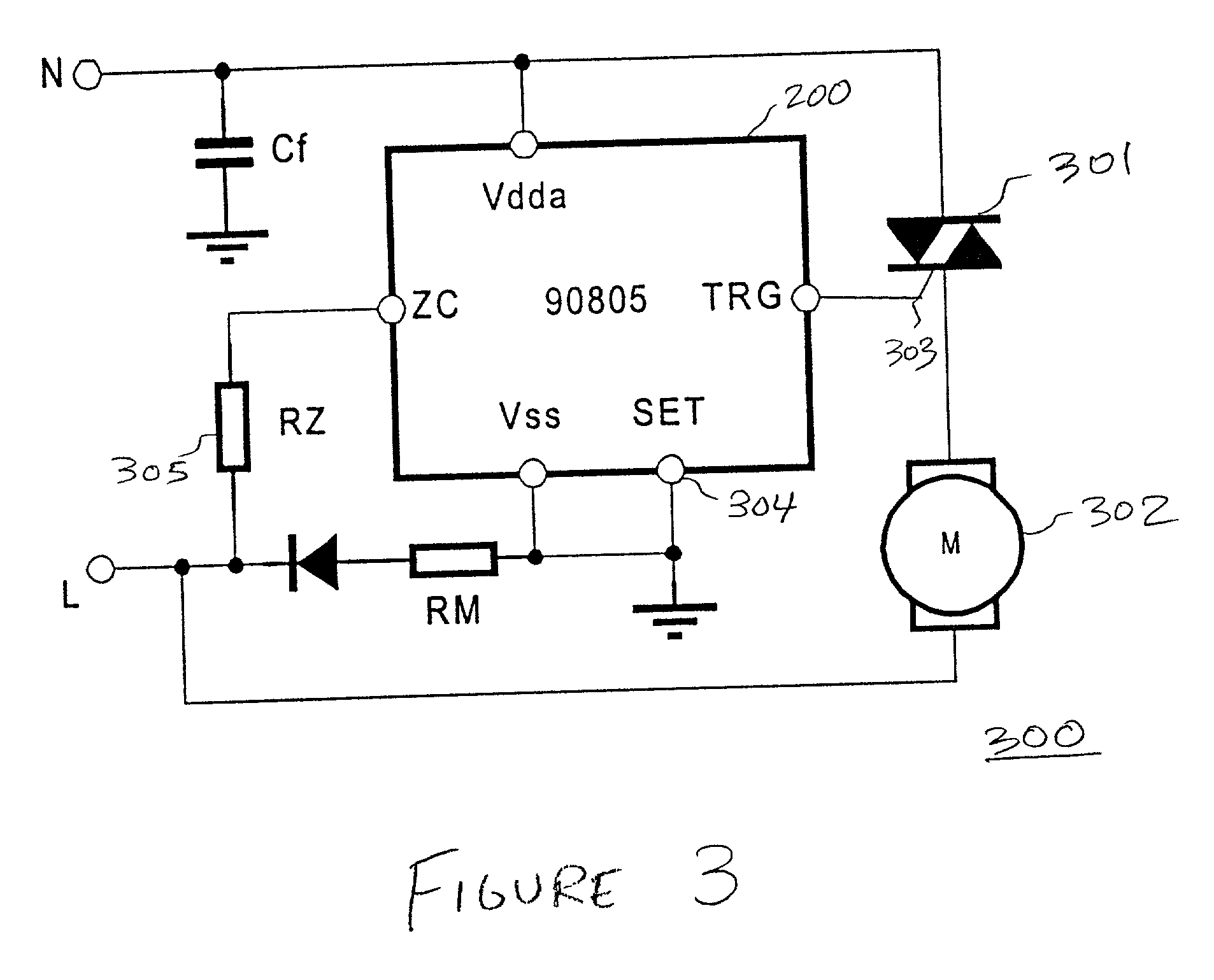 patent us20010028239 - triac controller having soft start speed regulation