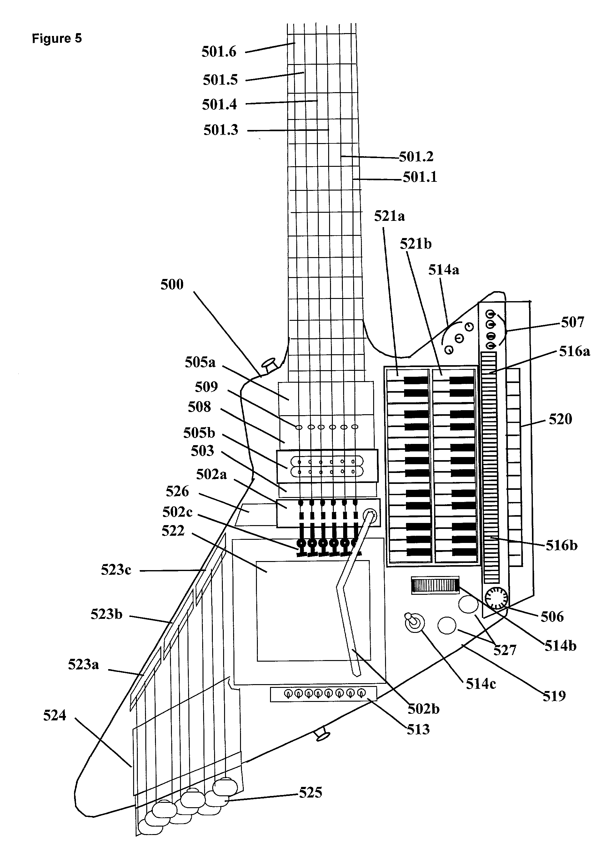 Patent Us20020005111 Floor Controller For Real Time Control Of Guitar Plans Further Gibson Es 355 2016 Explorer Wiring Drawing