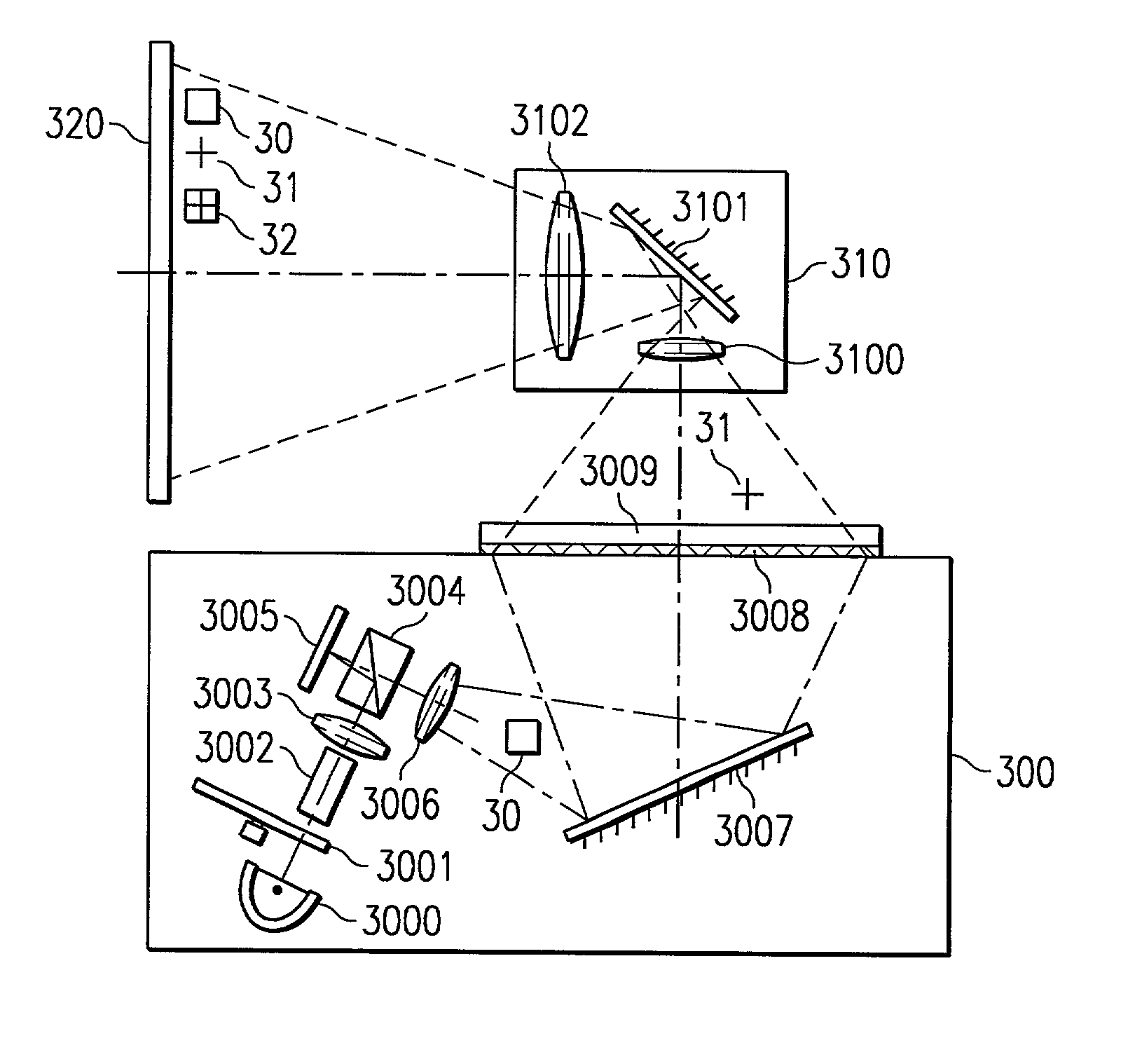 patent us20020021419 combination overhead projector and
