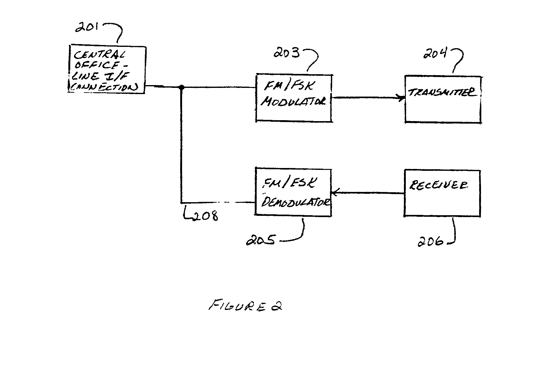 Patent Us20020049036 Wireless Phone Data Jack Using 49 Mhz Rf Datajack Wiring Diagram Drawing