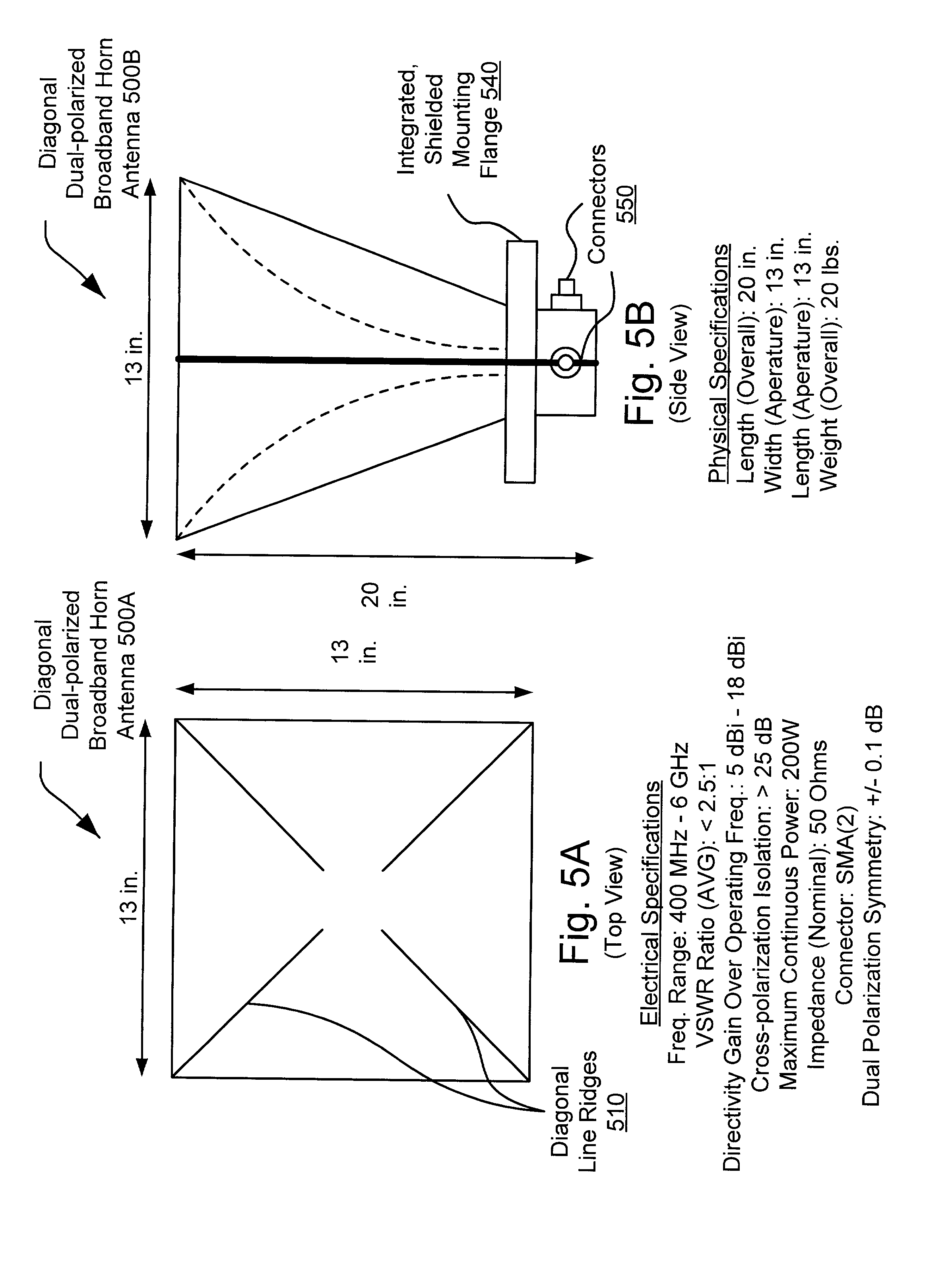 Patent US20020080081 - Diagonal dual-polarized broadband