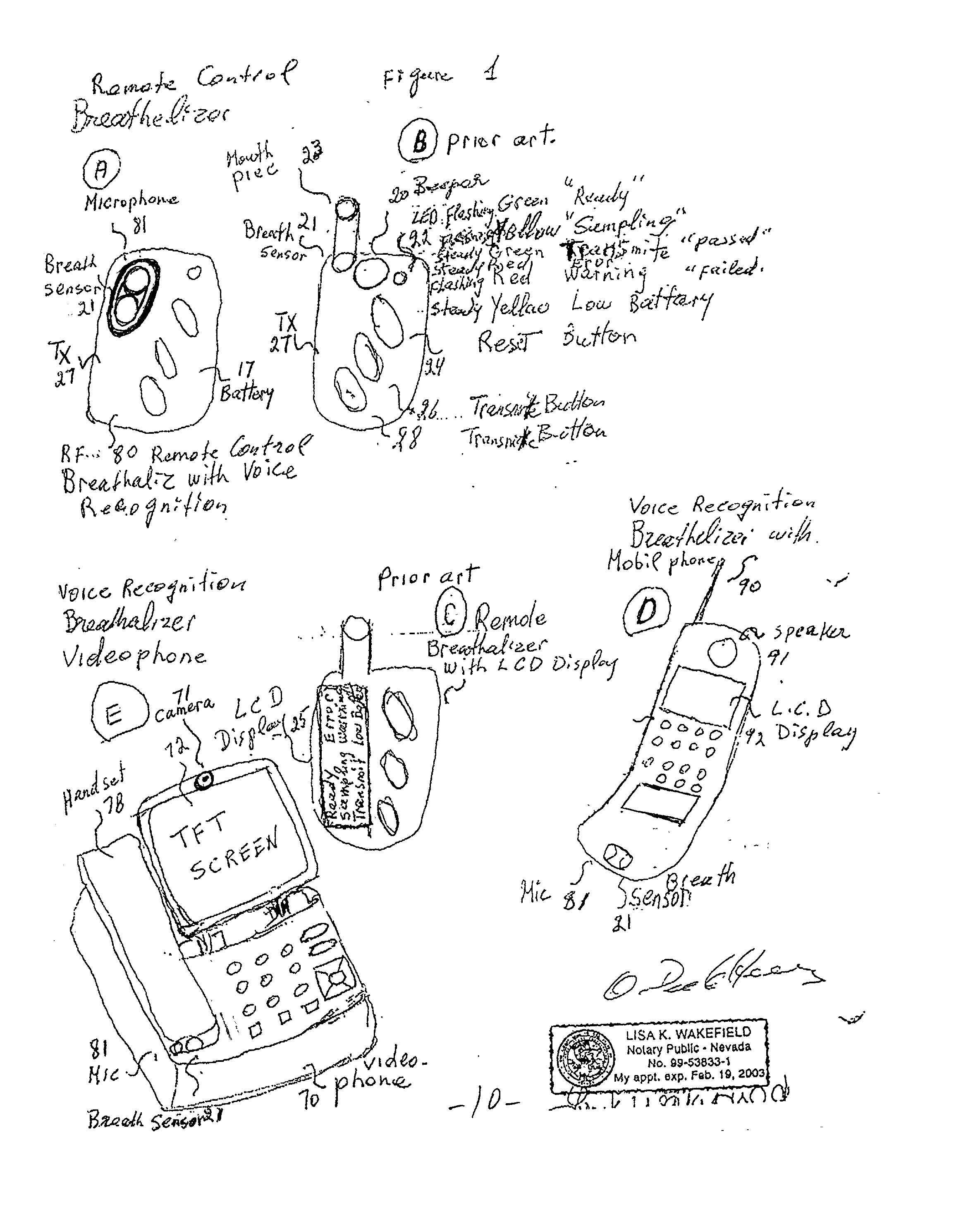 Lifesafer Interlock Wiring Diagram Operation Draeger Intoxalock Patent Us20020084130 Breathalyzer With Voice Recognition Google On