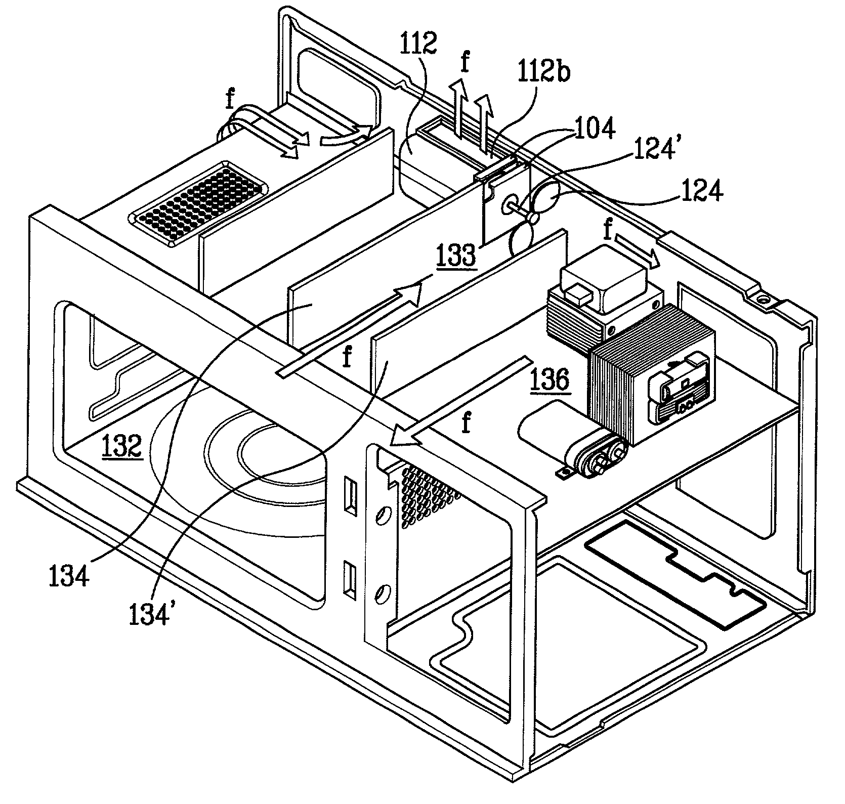 Microwave Oven Structure: Structure Of Ventilation Motor