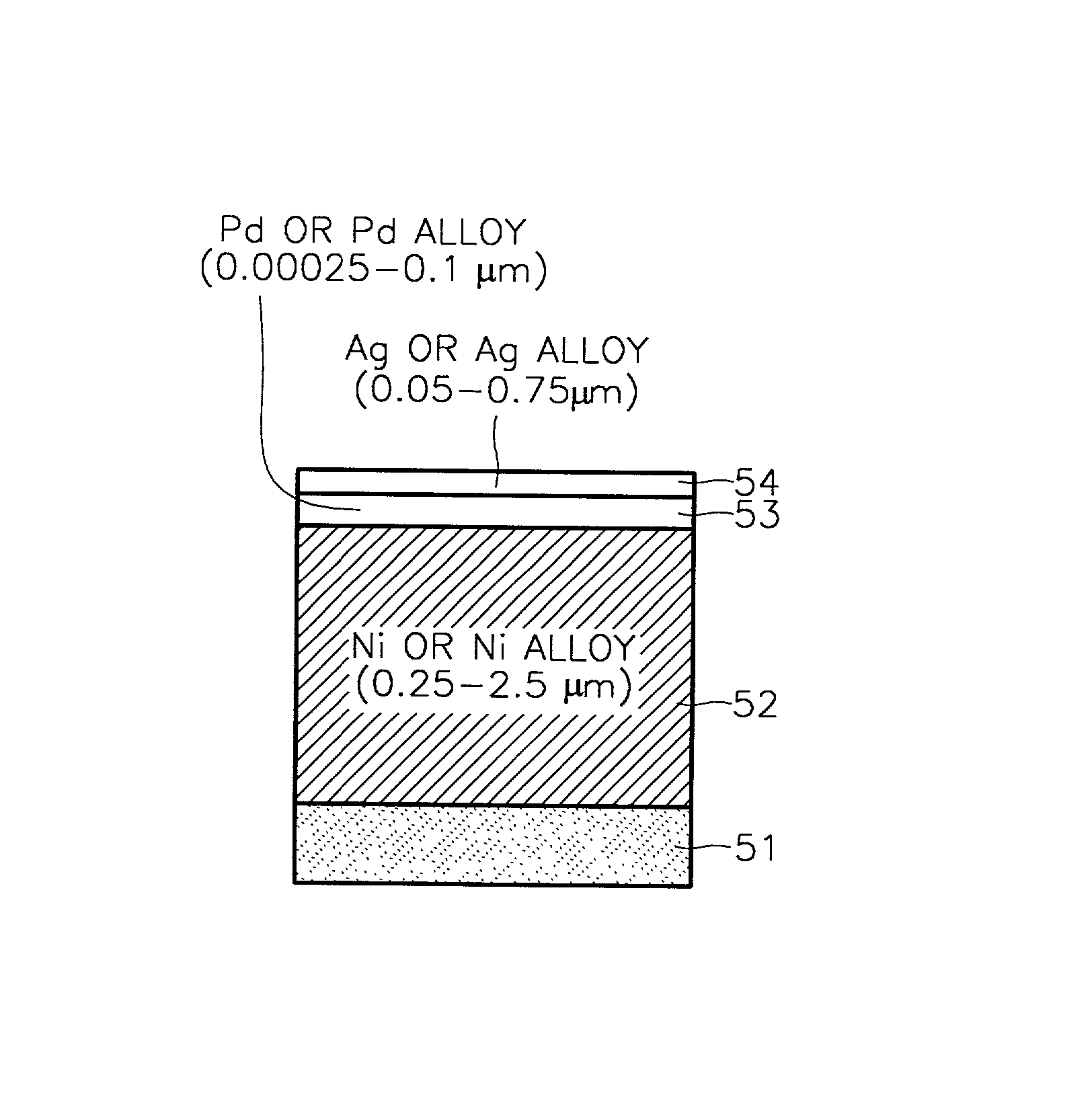 Patent US20020104682 - Ag-pre-plated lead frame for semiconductor ...