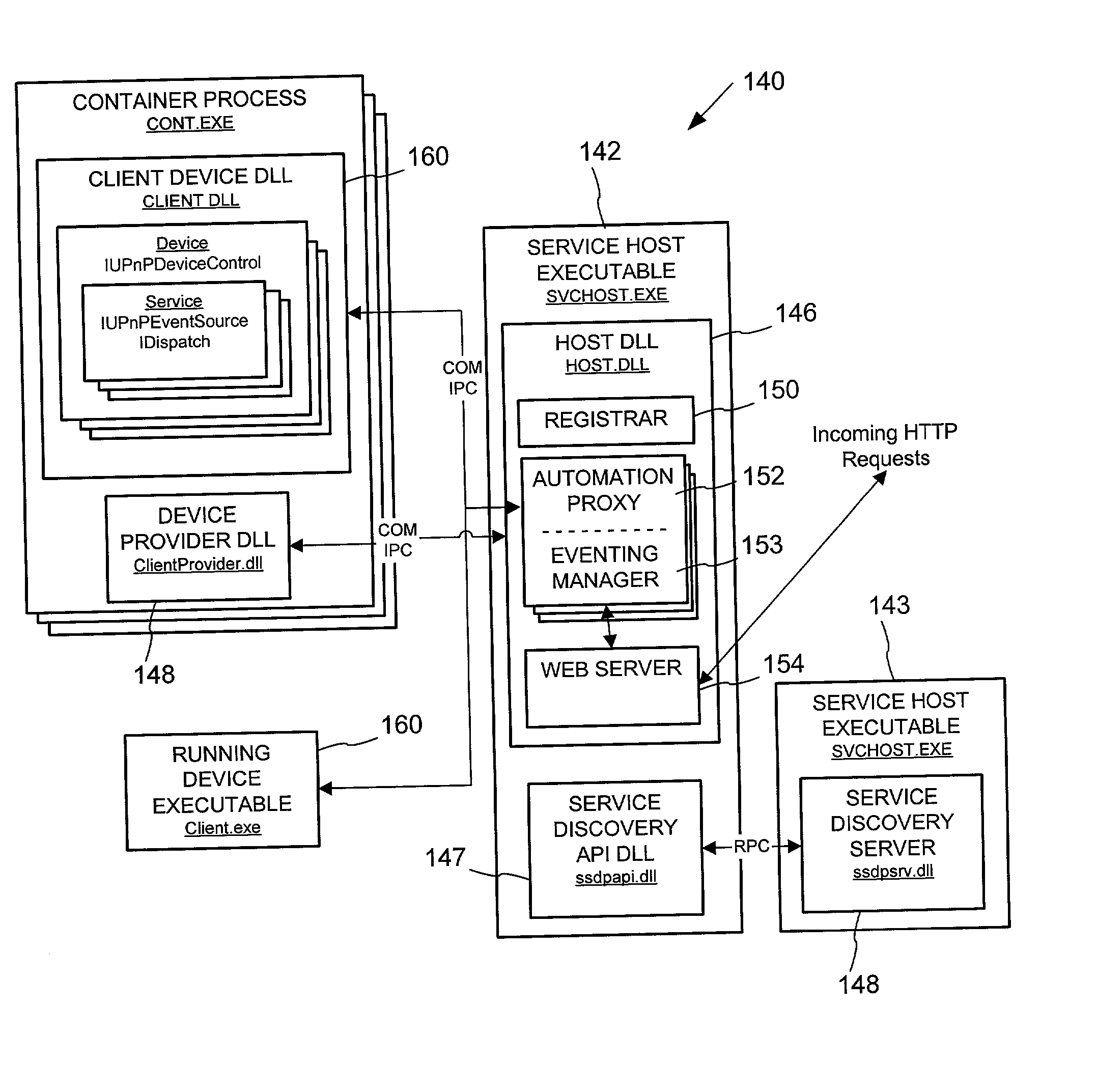 Is A Typical Application And Example Wiring Diagram Using The Pc1002 Patent Us20020112058 Peer Networking Host Framework Hosting Rh Google Ca