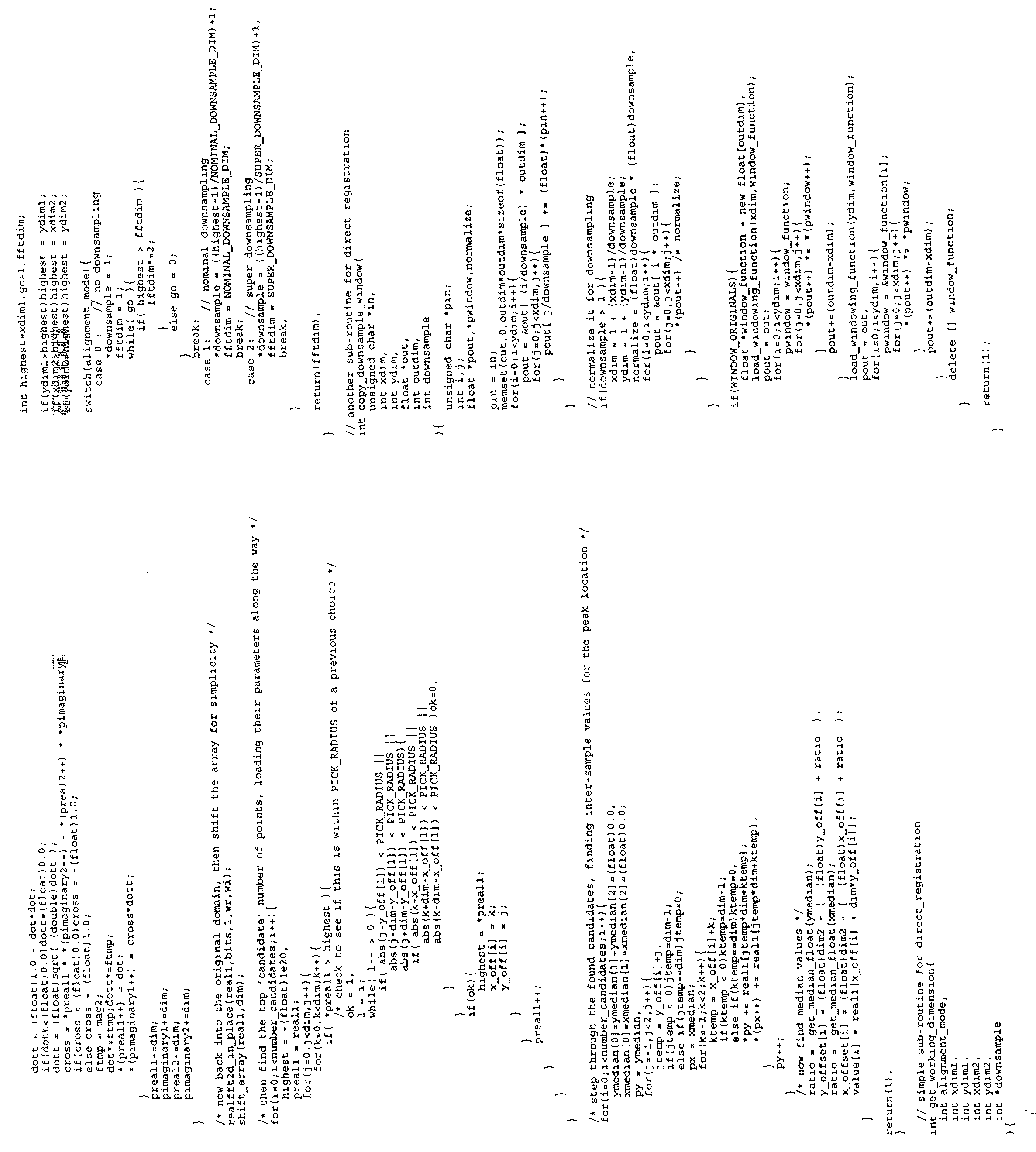us20020118831a1 counteracting geometric distortions in