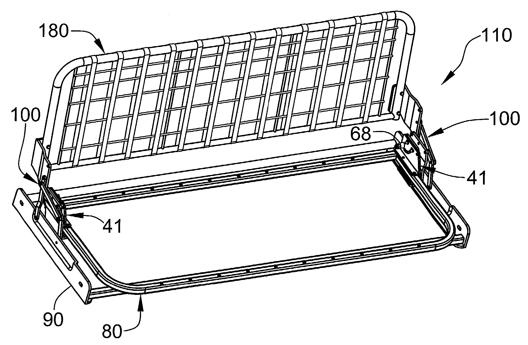 Patent US Convertible sofa Google Patents