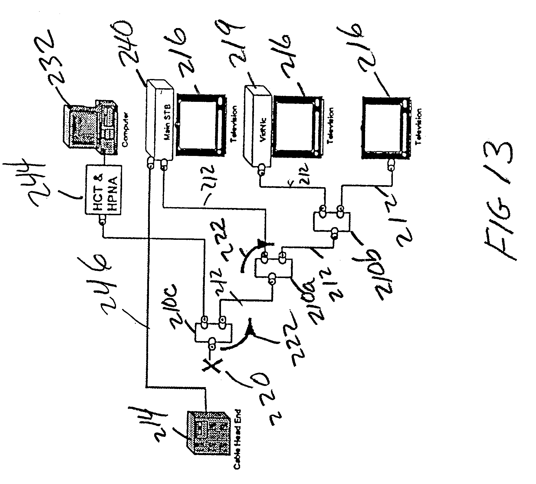 patent us20020174423 apparatus for transporting home networking Wide Area Network Diagram patent drawing