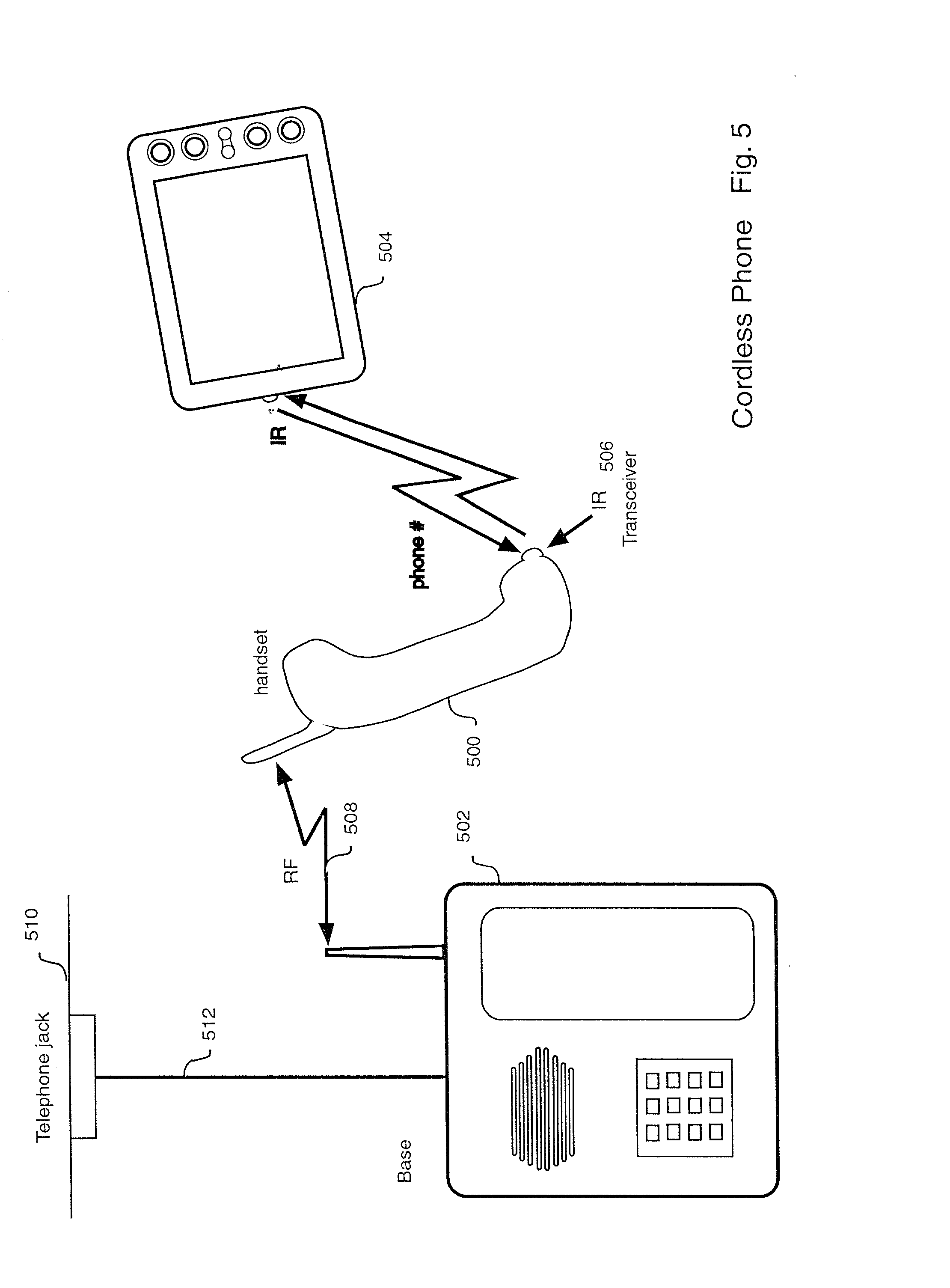 Patent Us20030017854 Wireless Mobile Computing Telephone Dialer Radio Remote Control Using Dtmf Receiver Transceiver Drawing