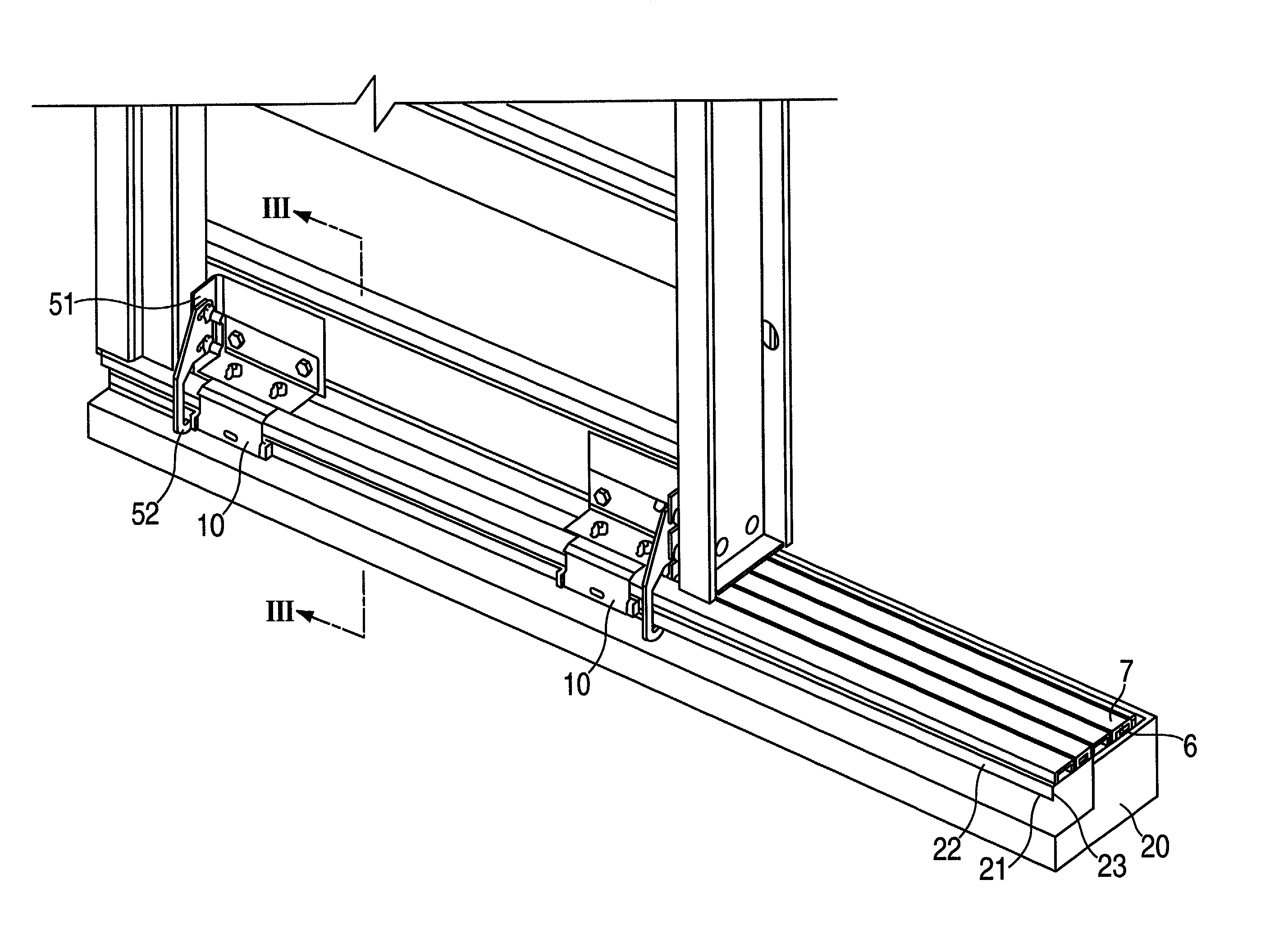 Patent Us20030033754 Elevator Door Sill Assembly