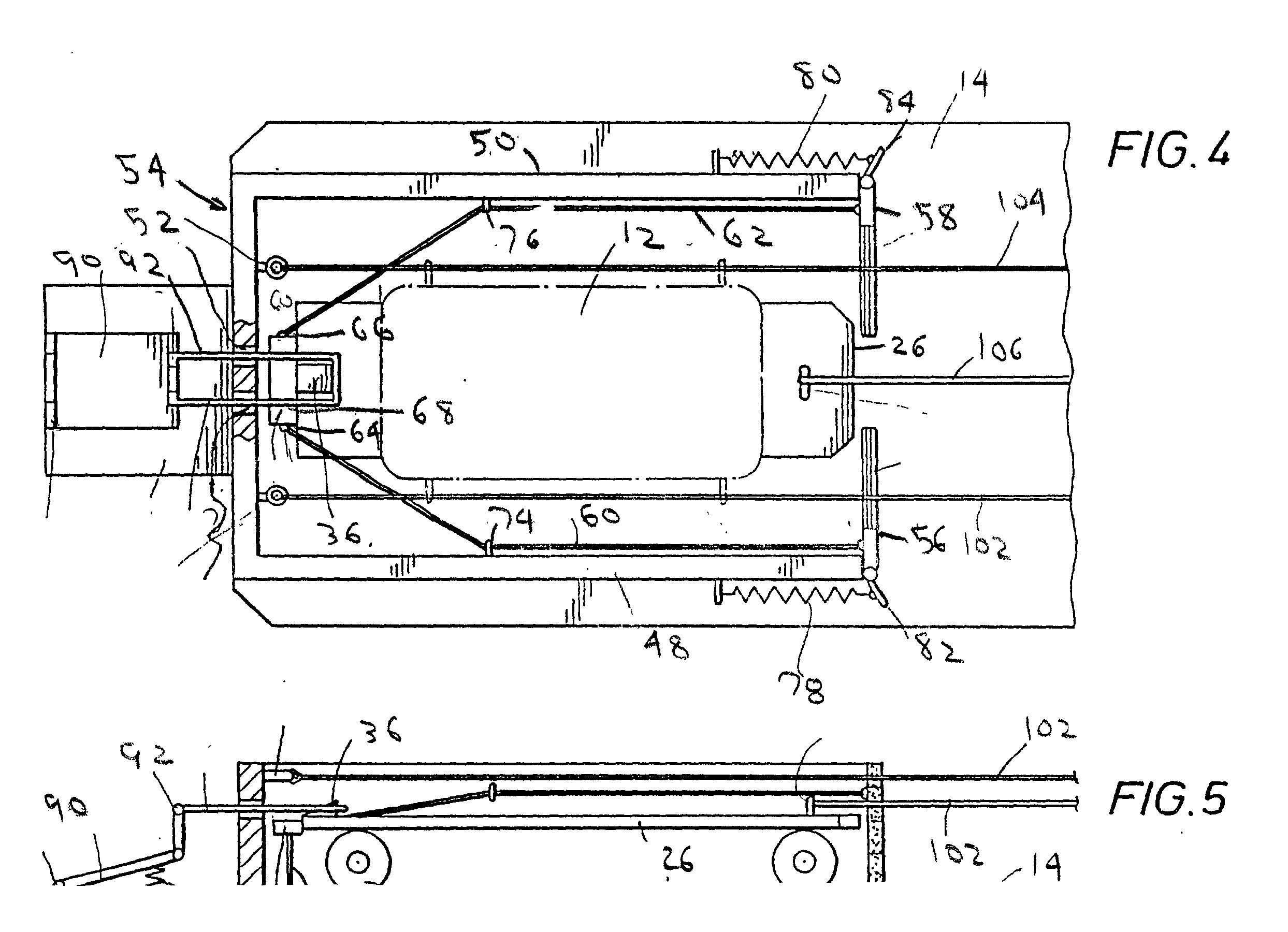 Patent Us20030034613 Calf Roping Training Apparatus