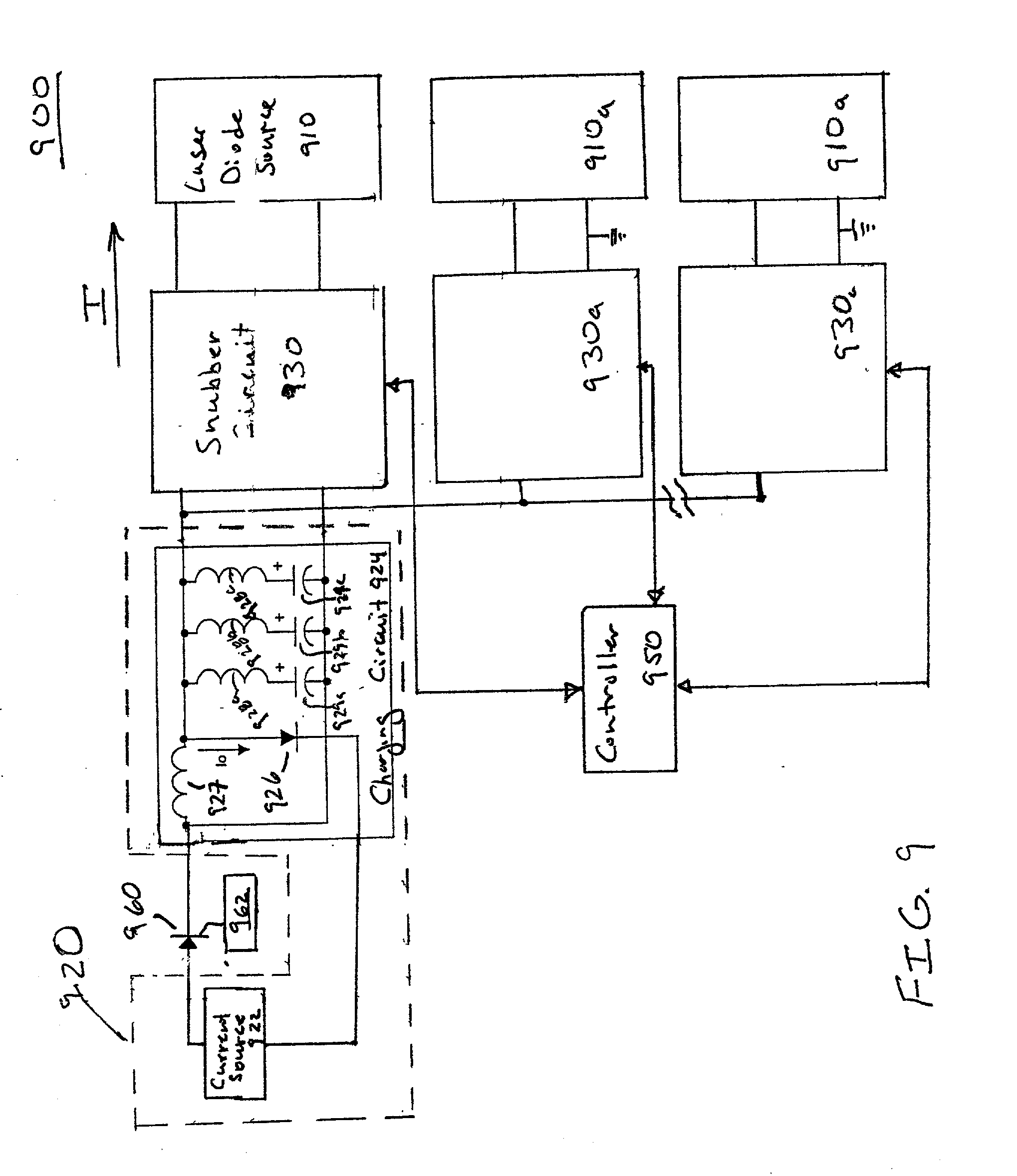 patent us20030039280 - method and apparatus for driving laser diode sources