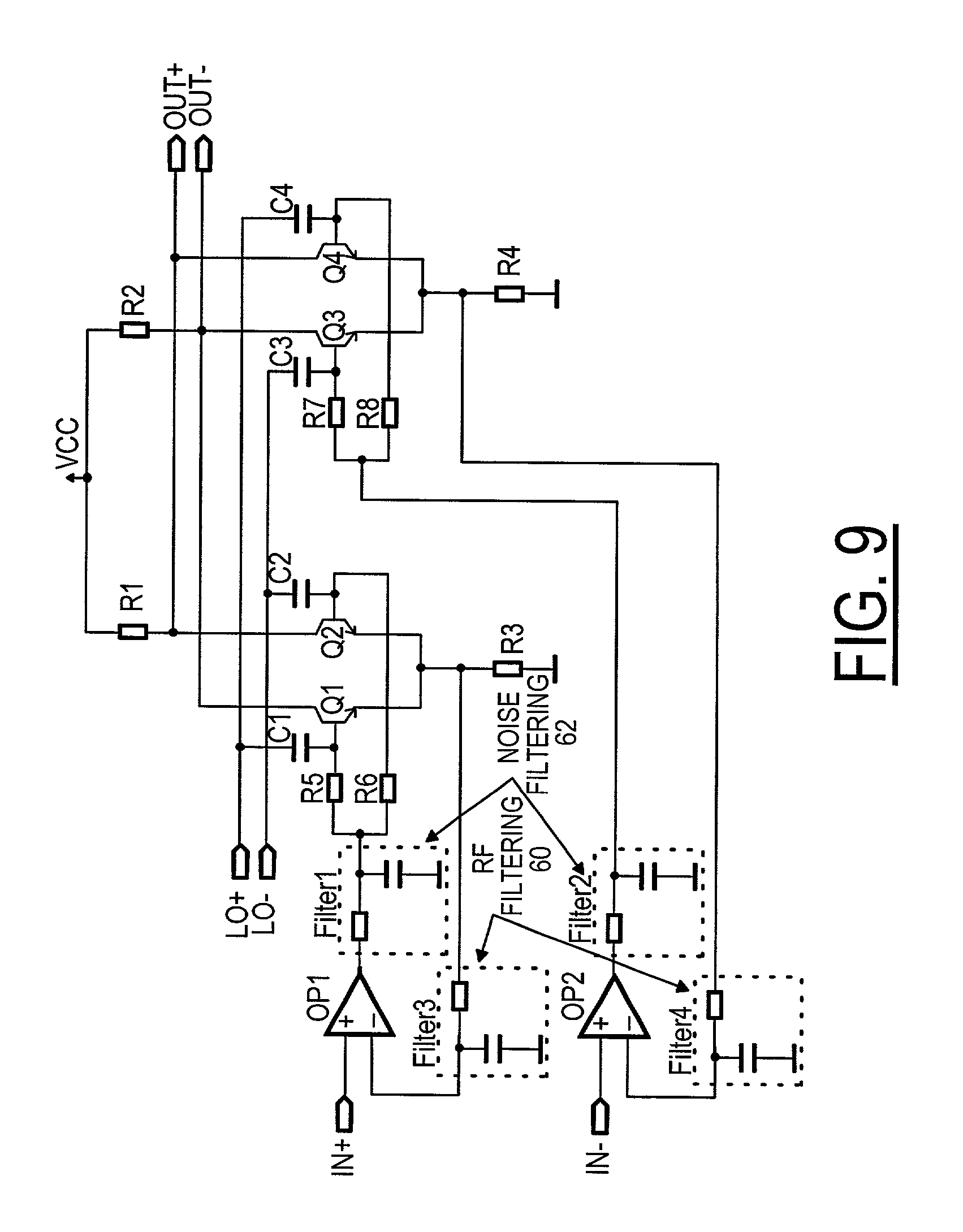 Patent Us20030045256 Stacked Modulator And Automatic Gain Control Integrated Circuit Filtercircuit Basiccircuit Diagram Drawing