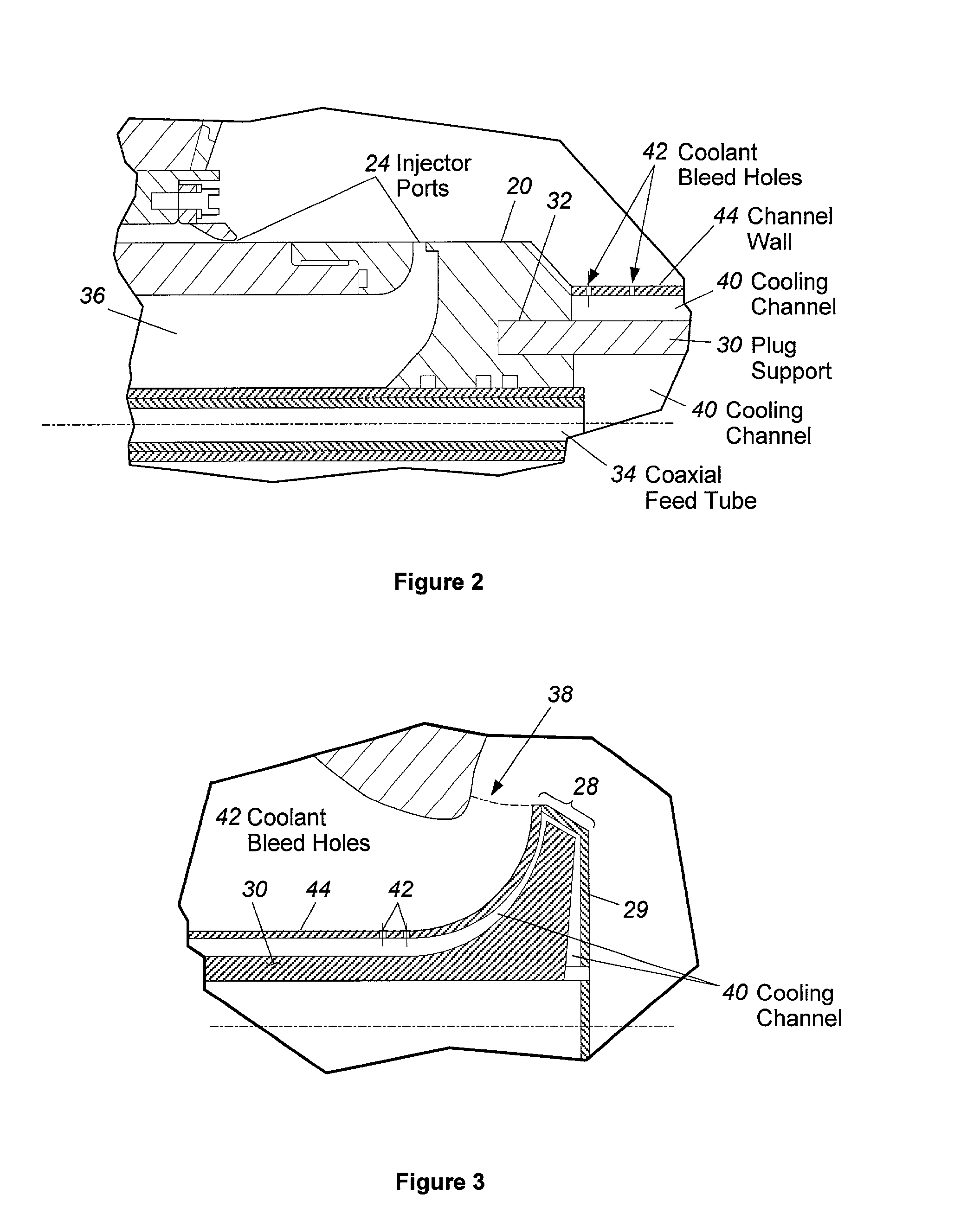 Patent US20030046923 - Pintle injector rocket with expansion
