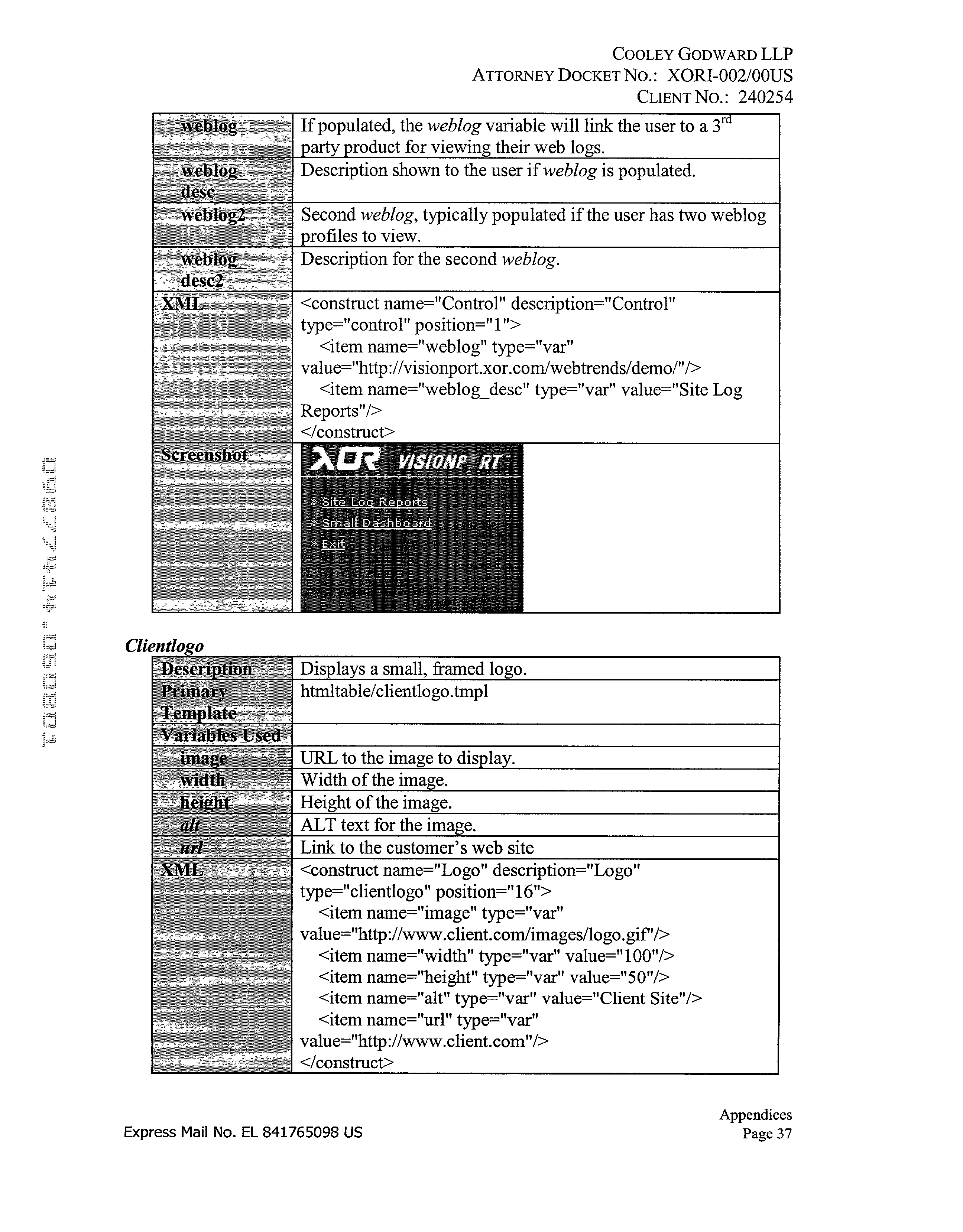 Figure US20030110249A1-20030612-P00037