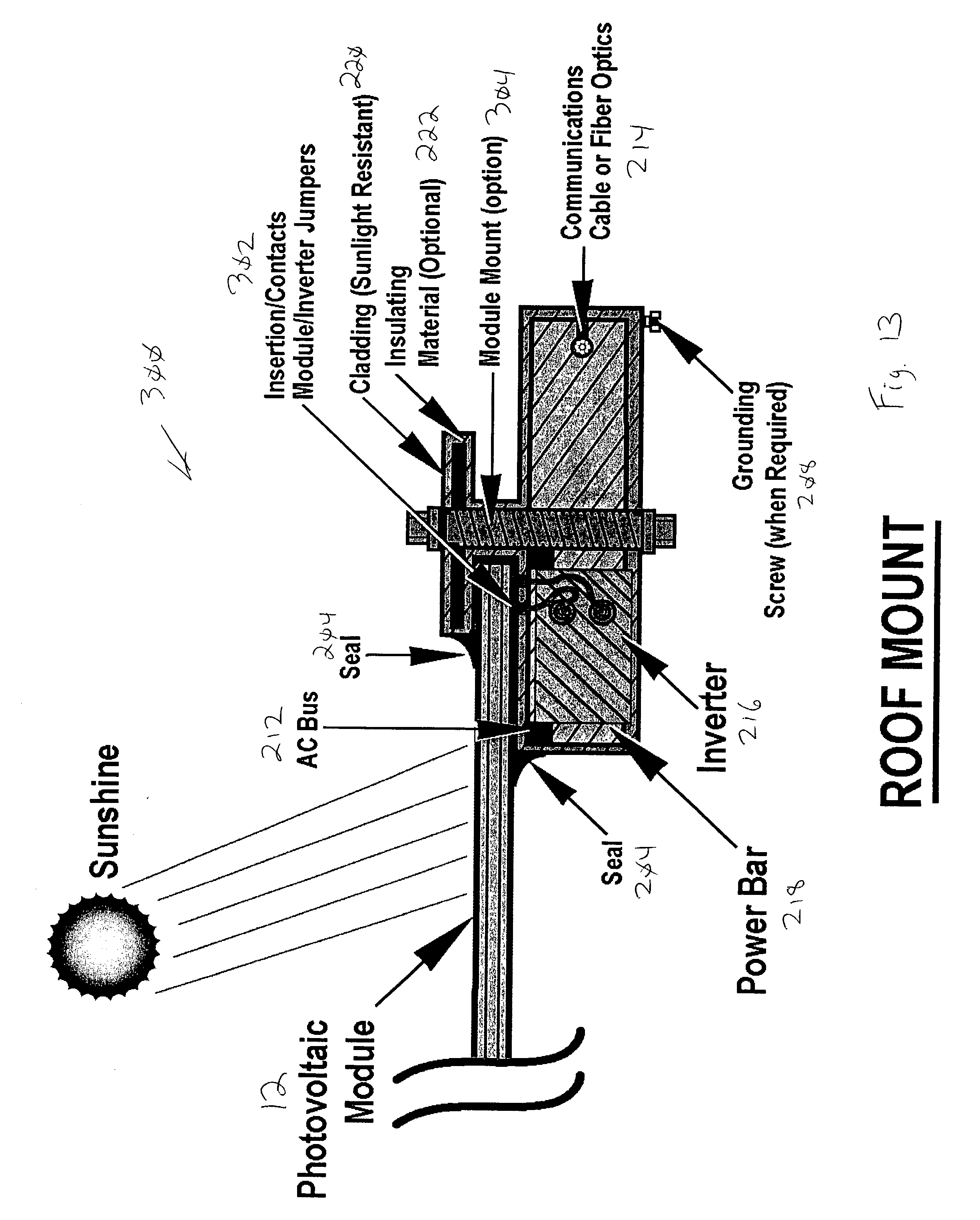 patent us20030111103 alternating current photovoltaic building Solar Panel Control Box patent drawing