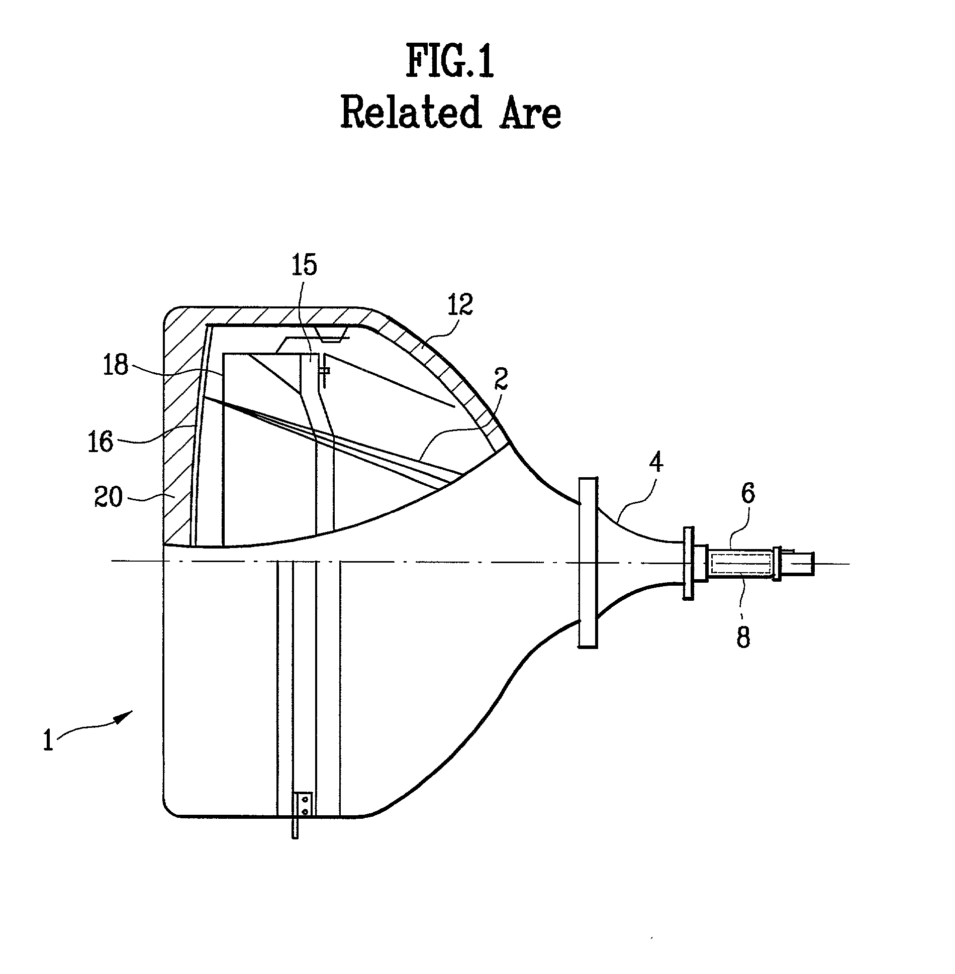 patent us20030122474 - color cathode ray tube