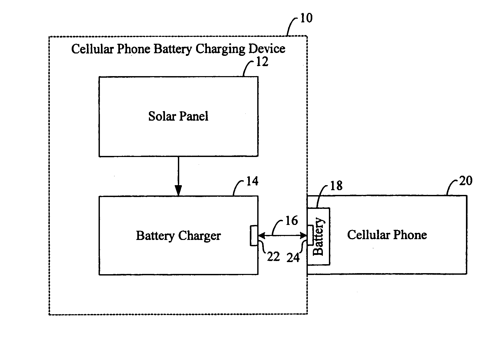 Patent Us20030128010 Portable Battery Charger For Cellular Solar Circuit Diagram Drawing