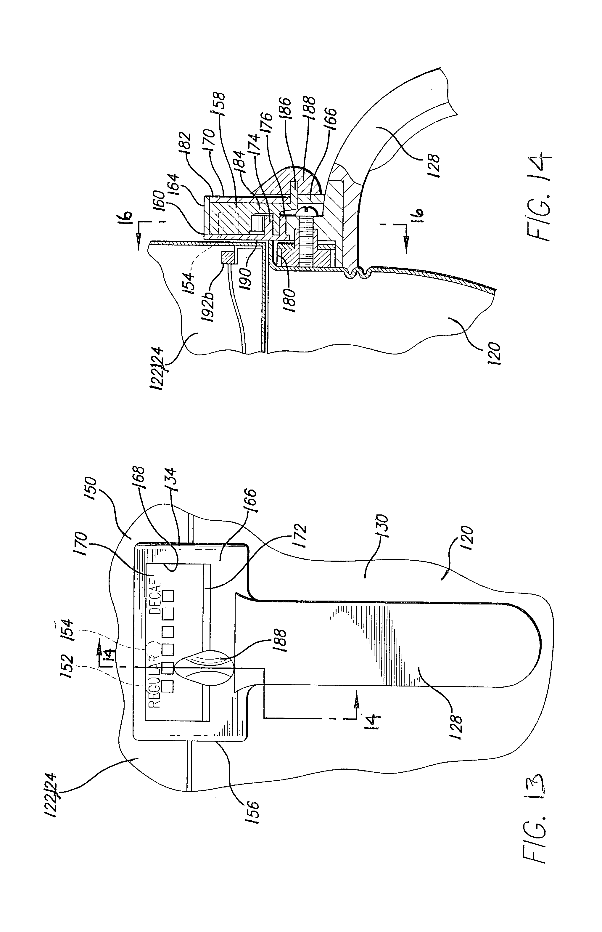 Patent Us20030129286 Beverage Maker Interface Google Patents Coffee Schematic Diagram Besides For Bunn Drawing