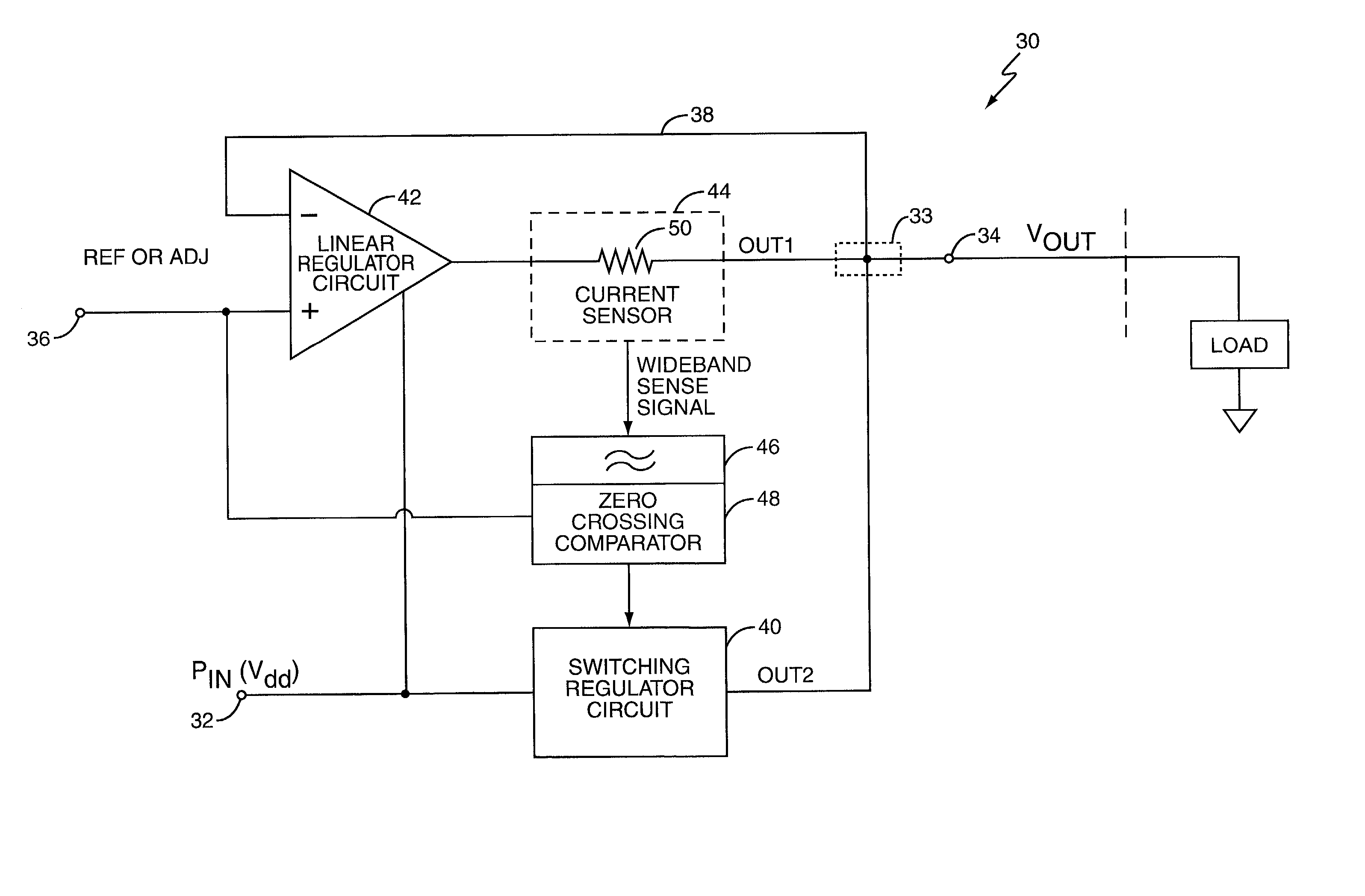 Patent Us20030137286 Capacitorless Dc Converter Google Patents Linear Mosfet Voltage Regulator Schematic Drawing