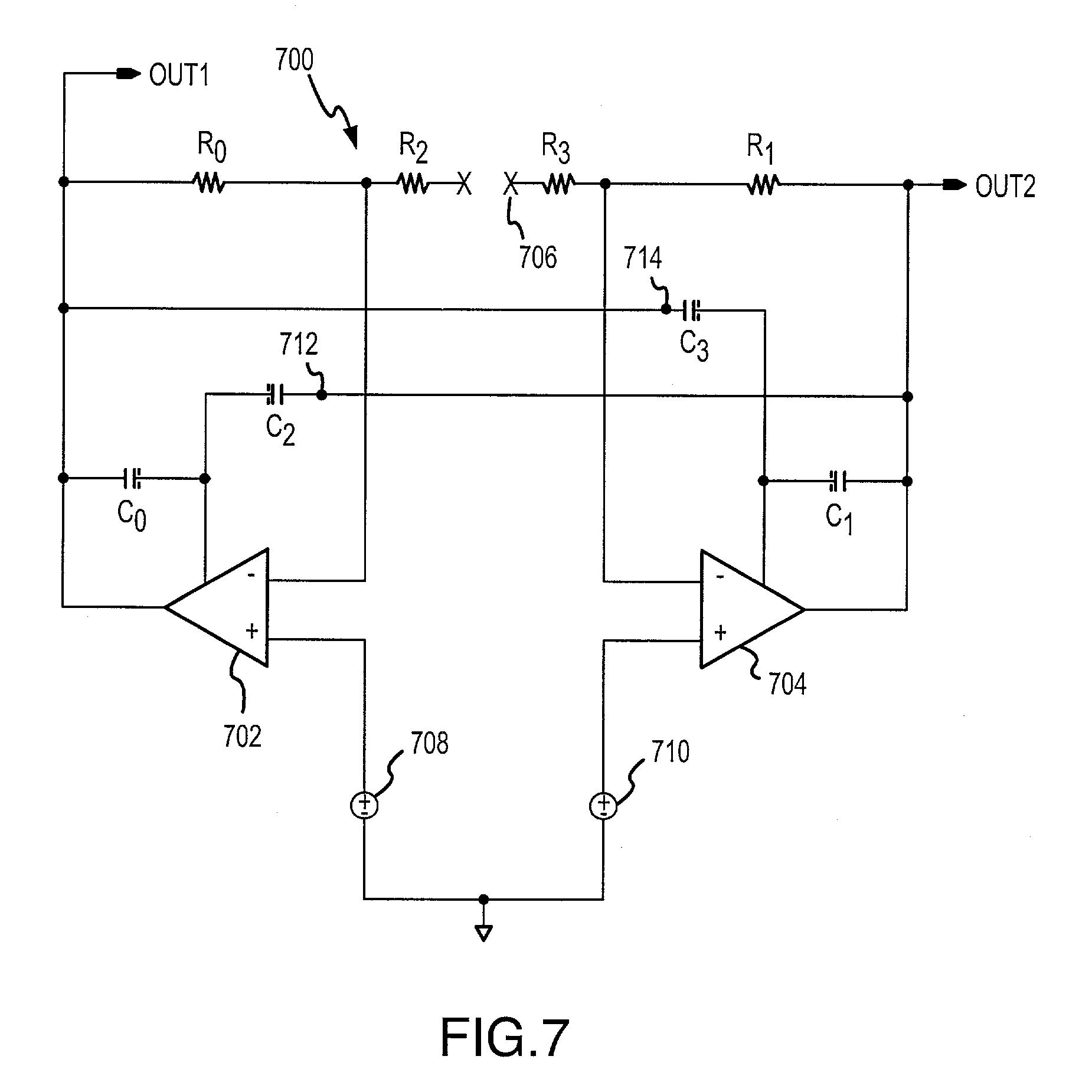 Patent Us20030169104 Miller De Compensation For Differential Input Representative Schematic Of A Currentfeedback Opamp Or Amplifier Drawing