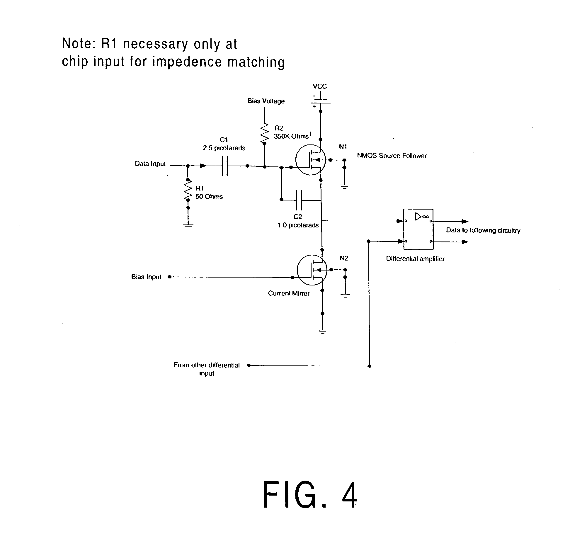 Patente Us20030184381 On Chip Ac Coupled Circuit Google Patentes Digital Clock Integrated Diagram Amplifiercircuits Patent Drawing