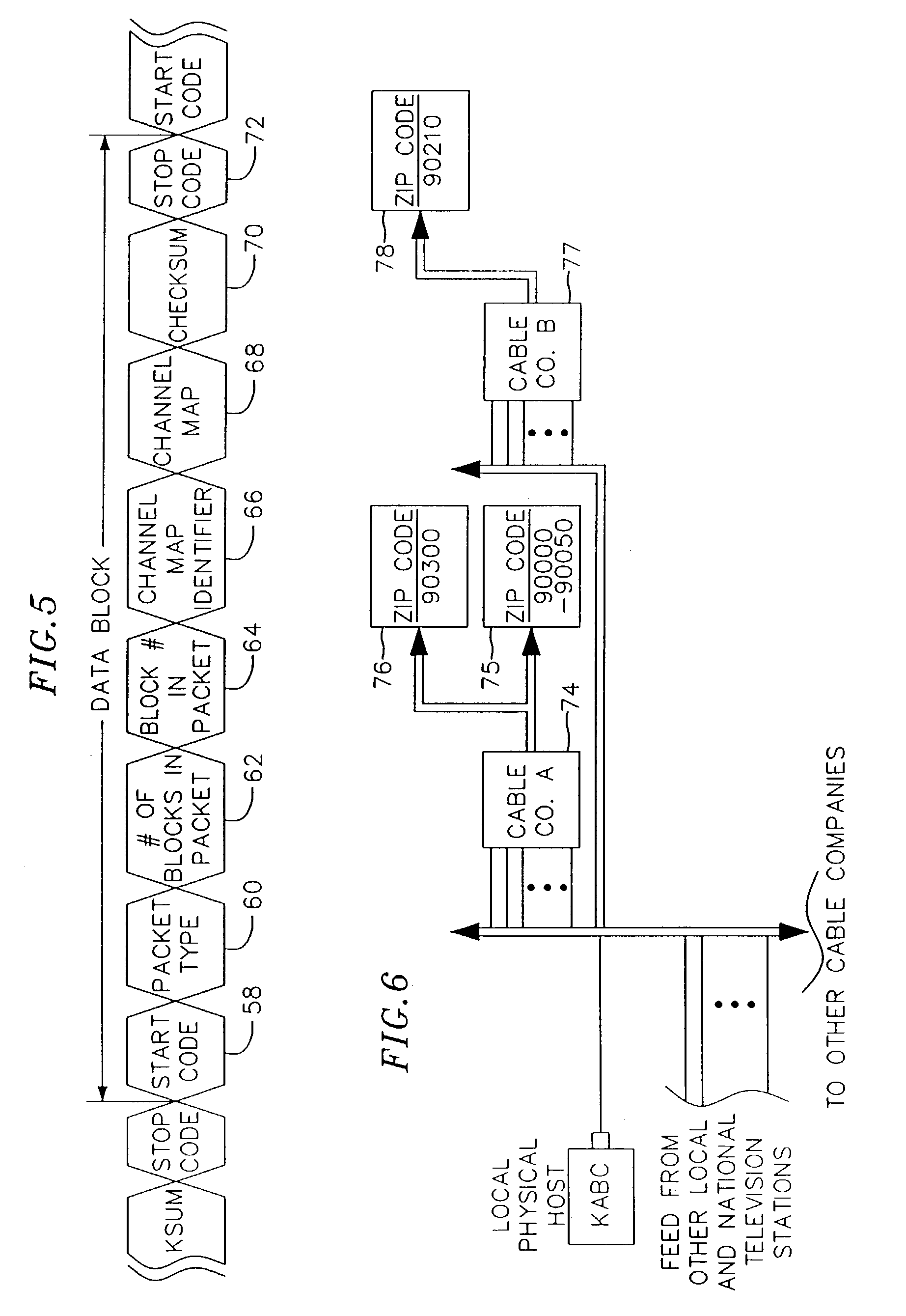 Patent US Method And Apparatus For Transmitting And - Us zip code type
