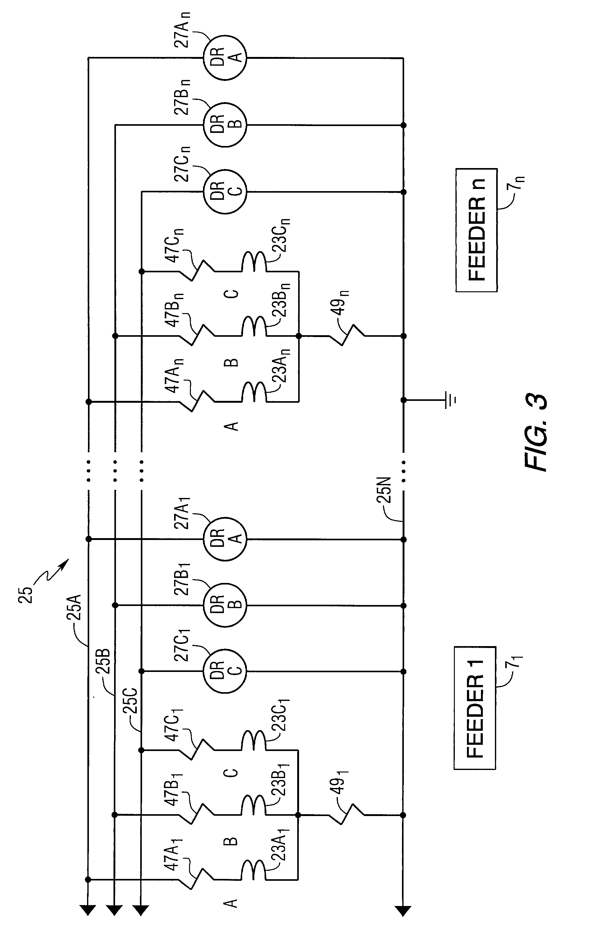 Patent US Distributed Bus Differential Relay System - Differential relay wiring diagram
