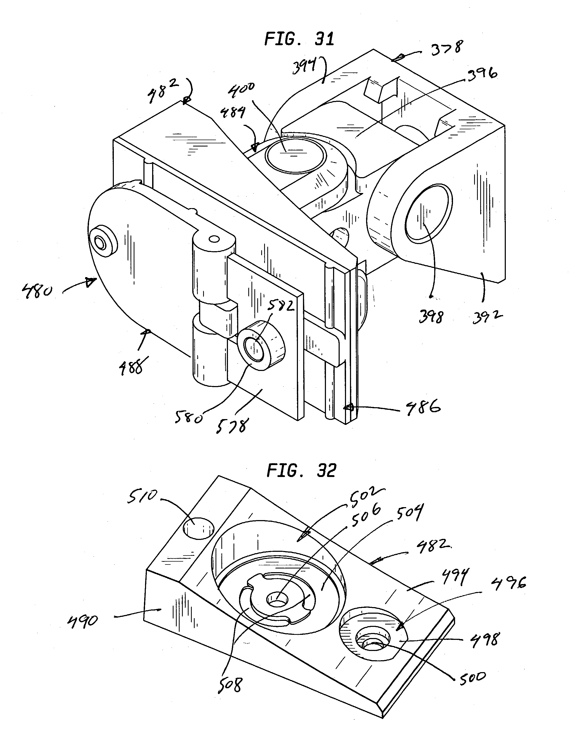 patent us20040011938 - multiple electronic device reorienting support