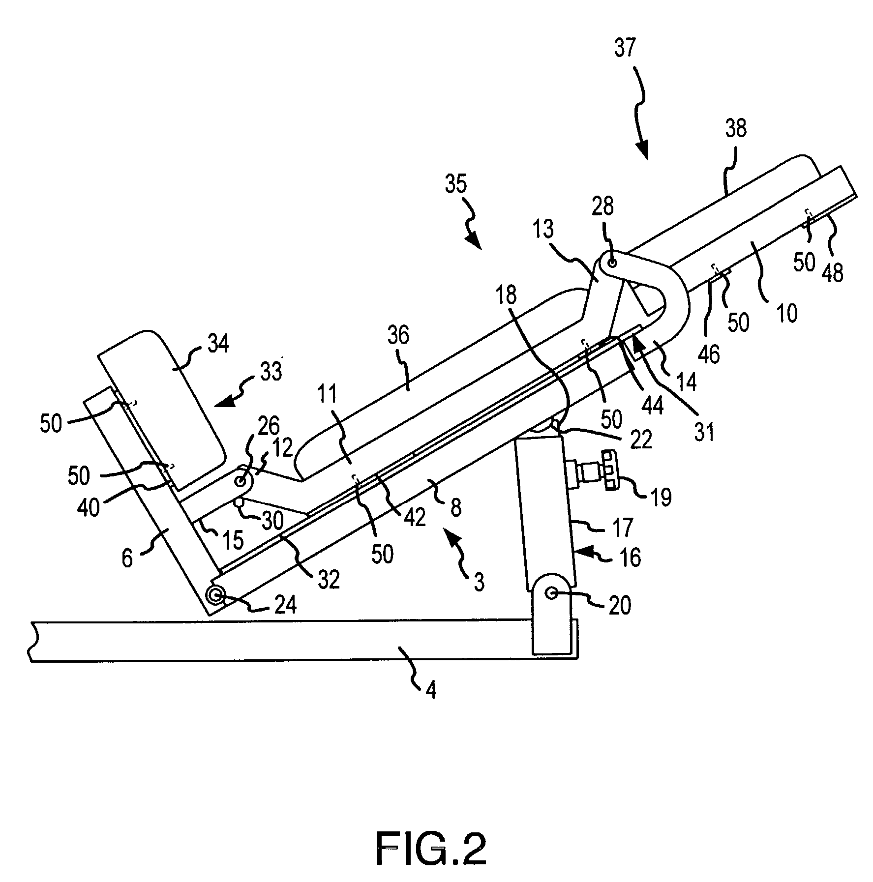 Patent US20040023760 - Collapsible seat for combination ...