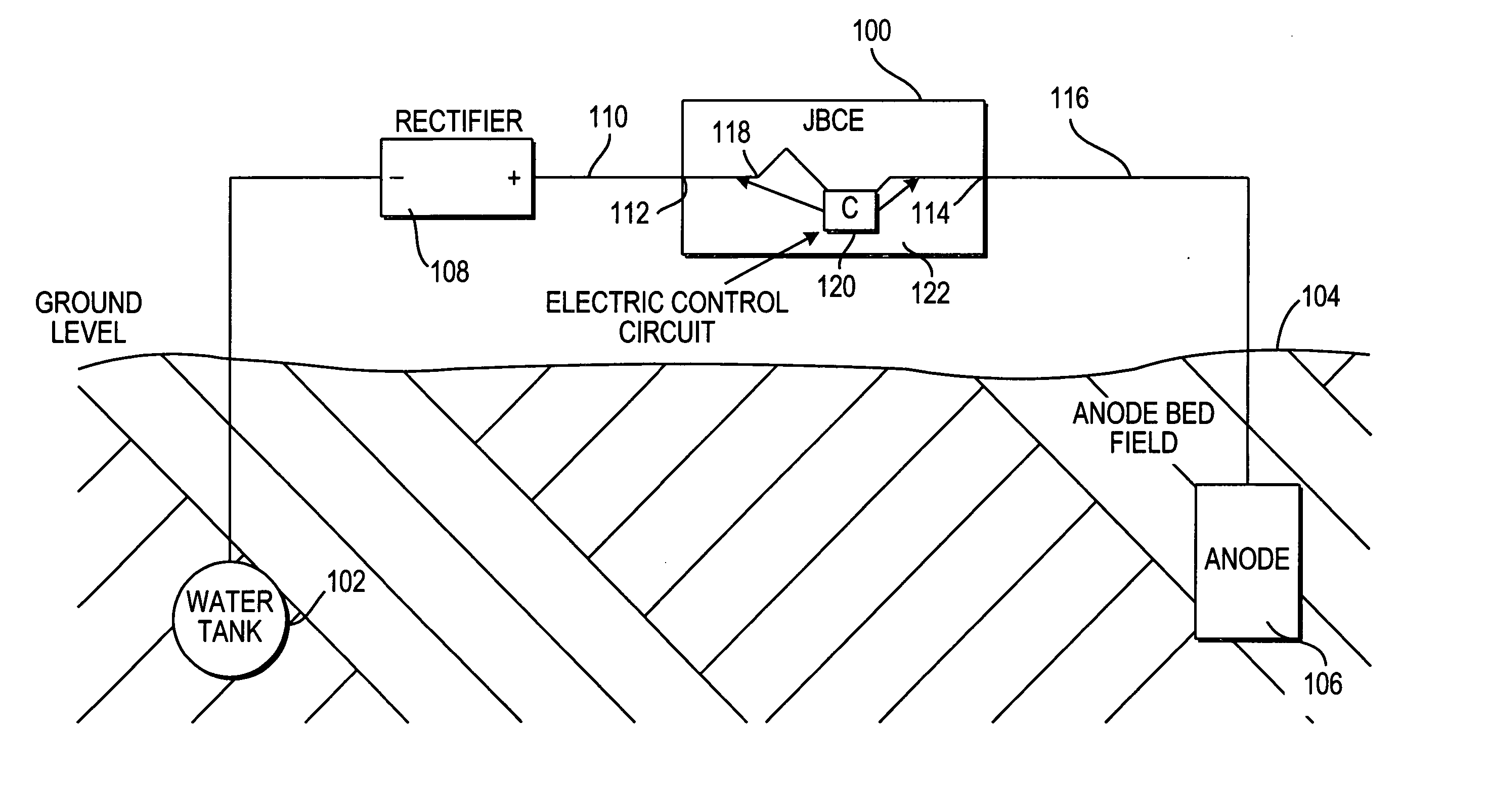 Patent Us20040057174 Cathodic Protection Junction Box