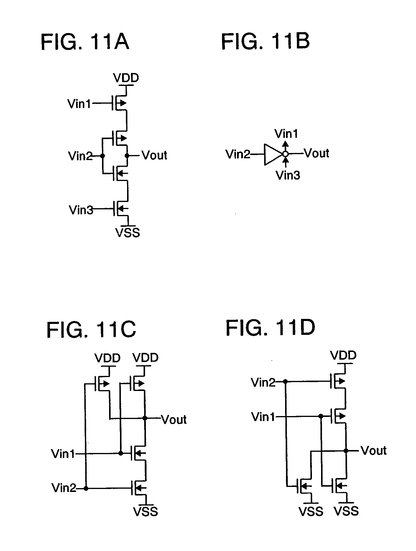 Patent Us20040061542 Clocked Inverter Nand Nor And