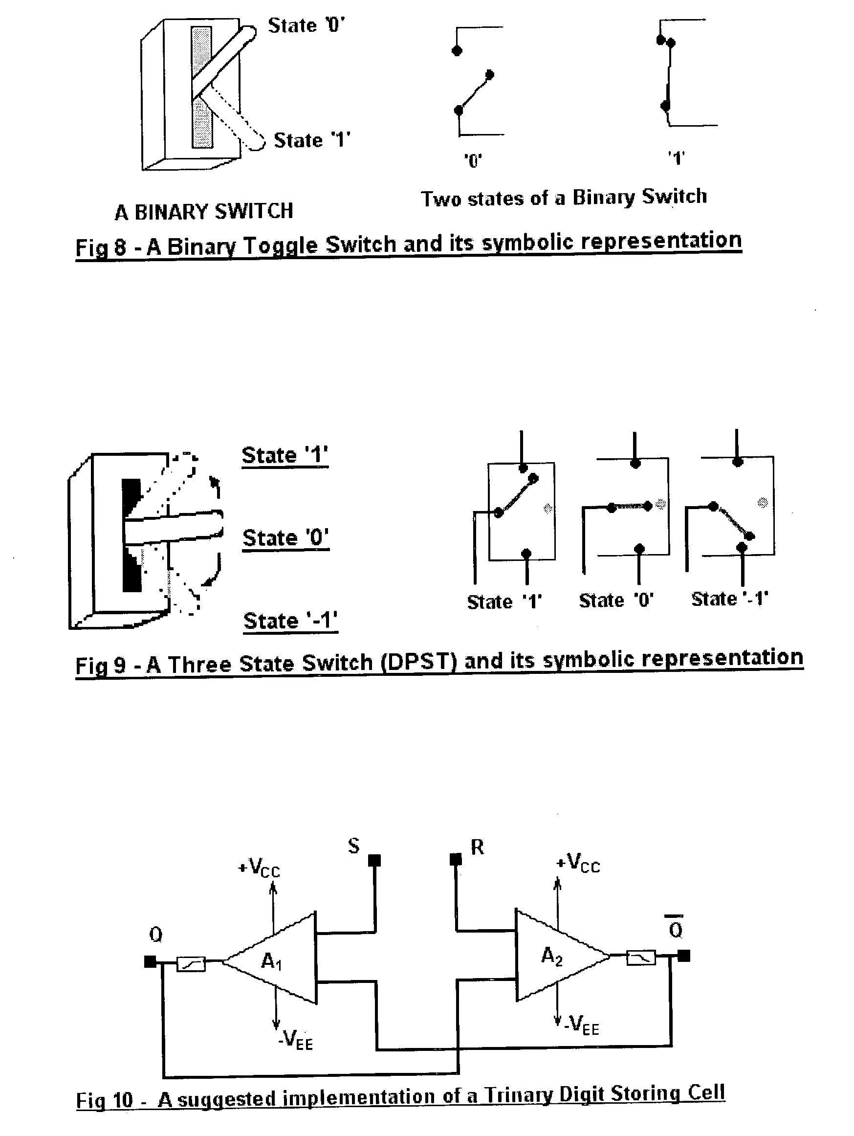 Patent US20040075466 - The trinary method for digital computing ...
