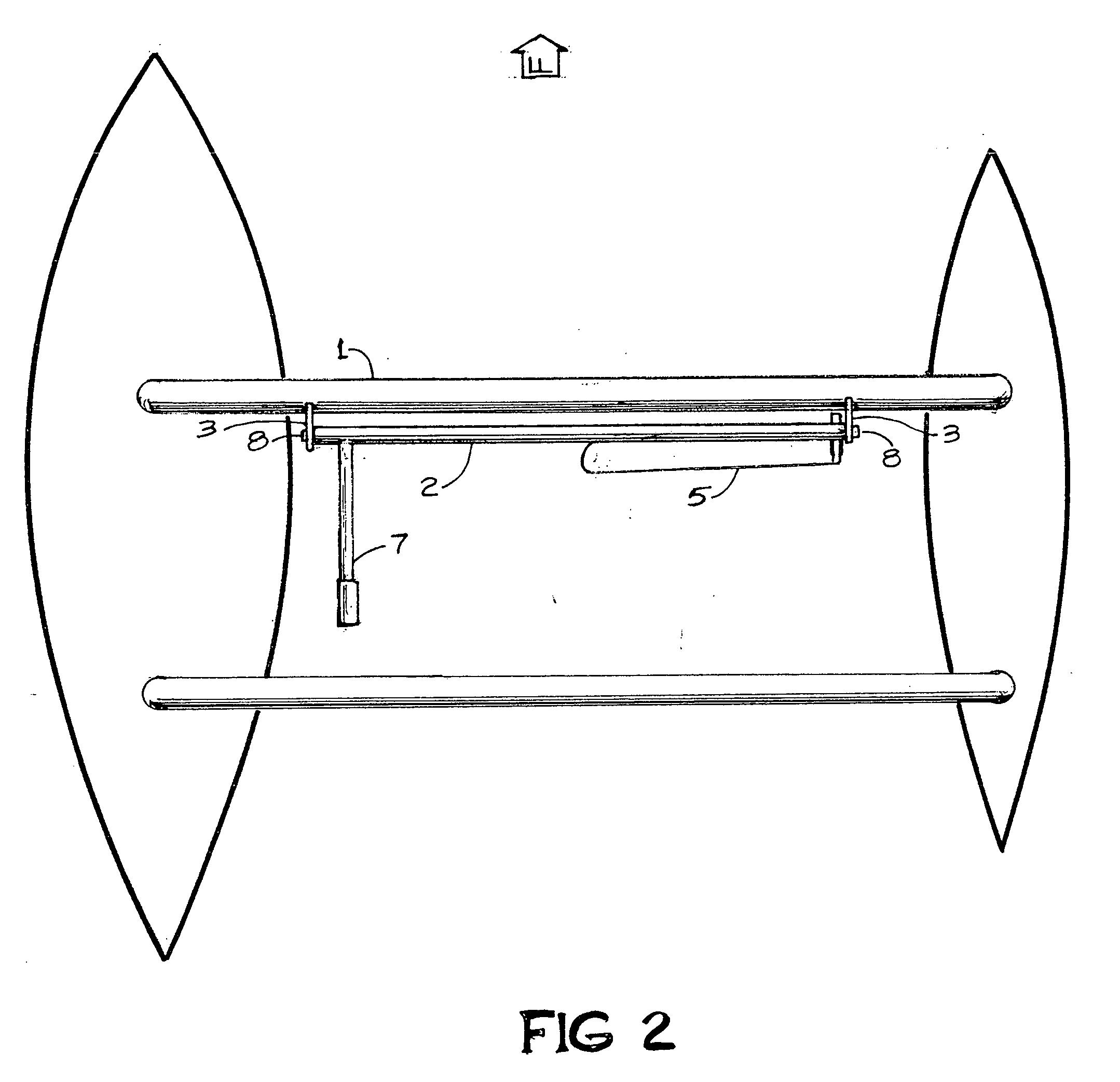 patent us20040089217 manual hydrofoil and spar truss. Black Bedroom Furniture Sets. Home Design Ideas