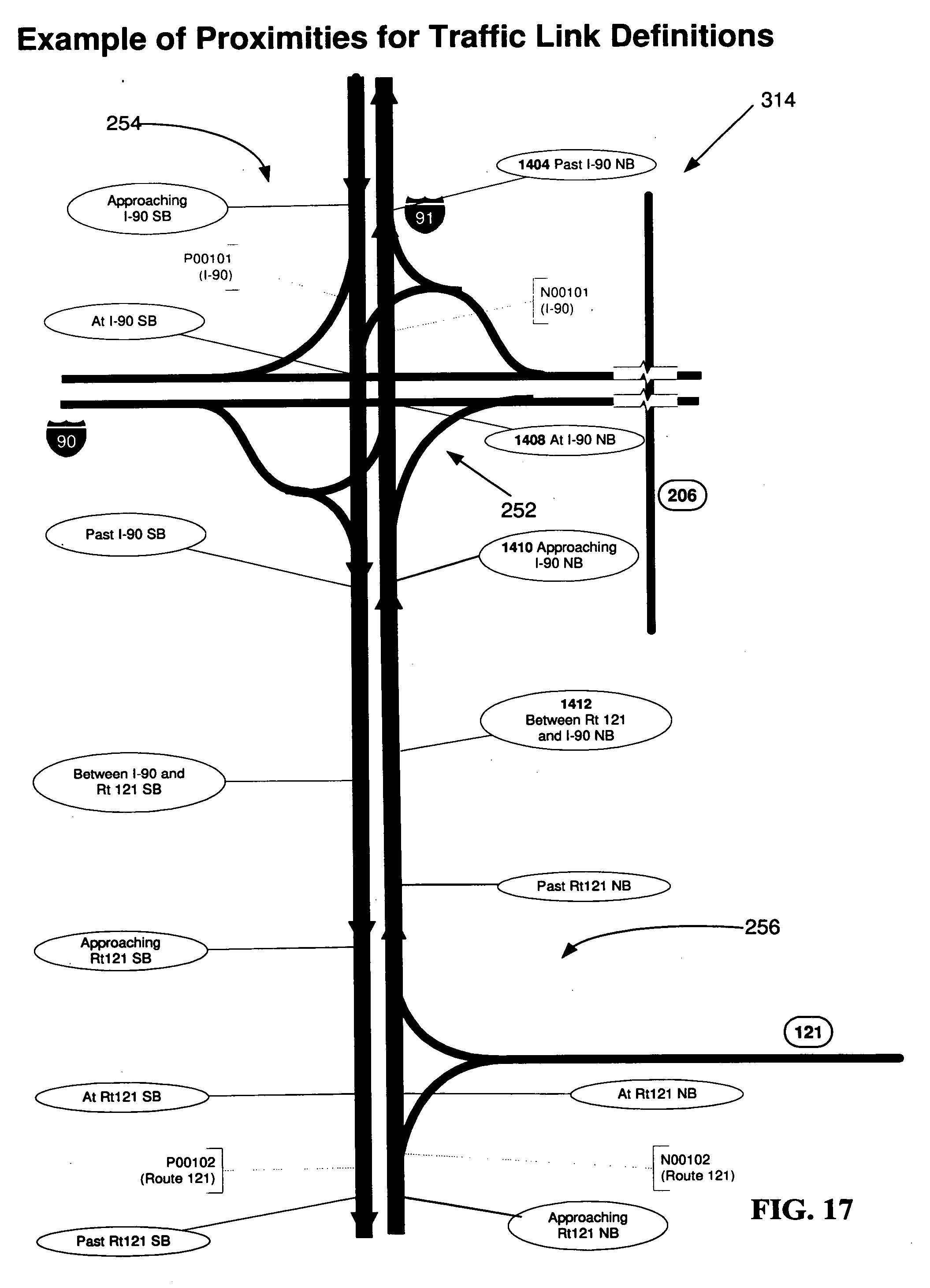 Patent Us20040143385 Method Of Creating A Virtual Traffic Network Computerpowered Rs232 Circuit Diagram Tradeoficcom Drawing