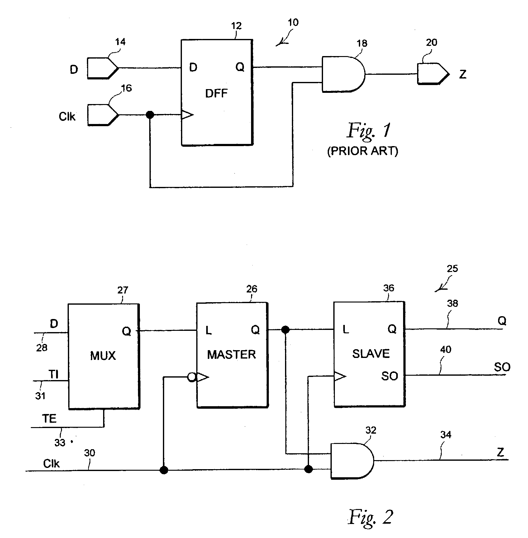 Patent Us20040155678 Domino Logic Compatible Scannable Flip Flop D Ff Circuit Diagram Drawing