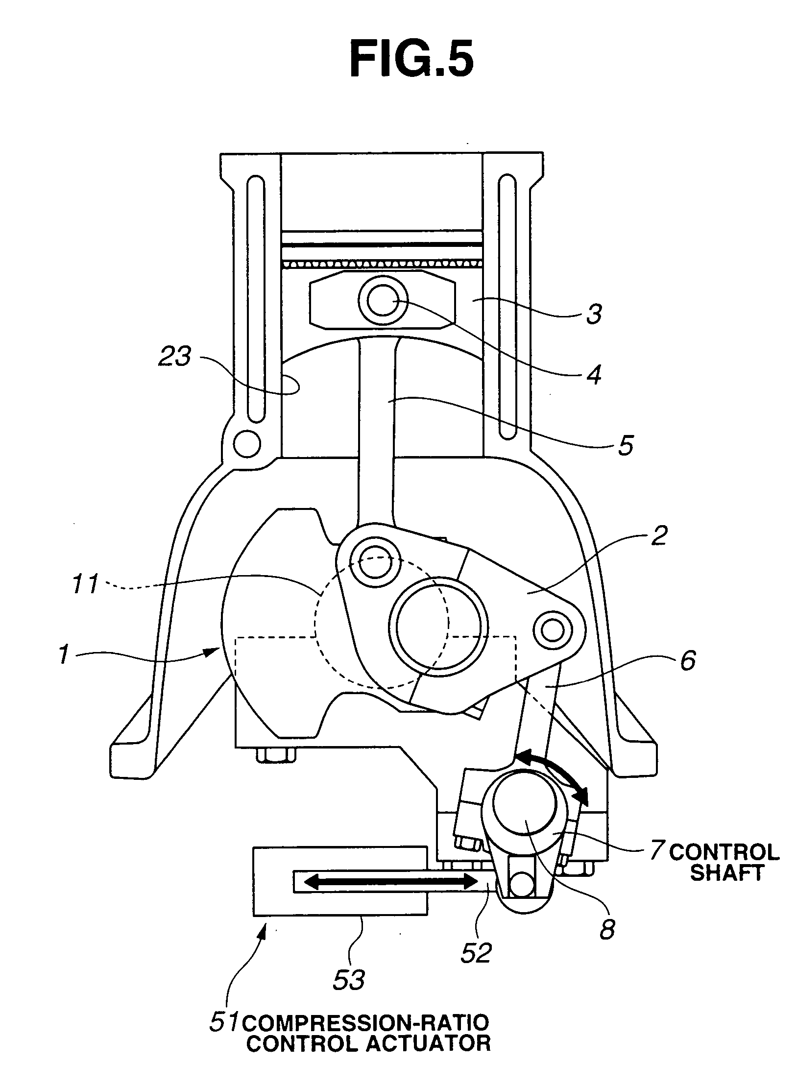 Patent US Reciprocating Engine With A