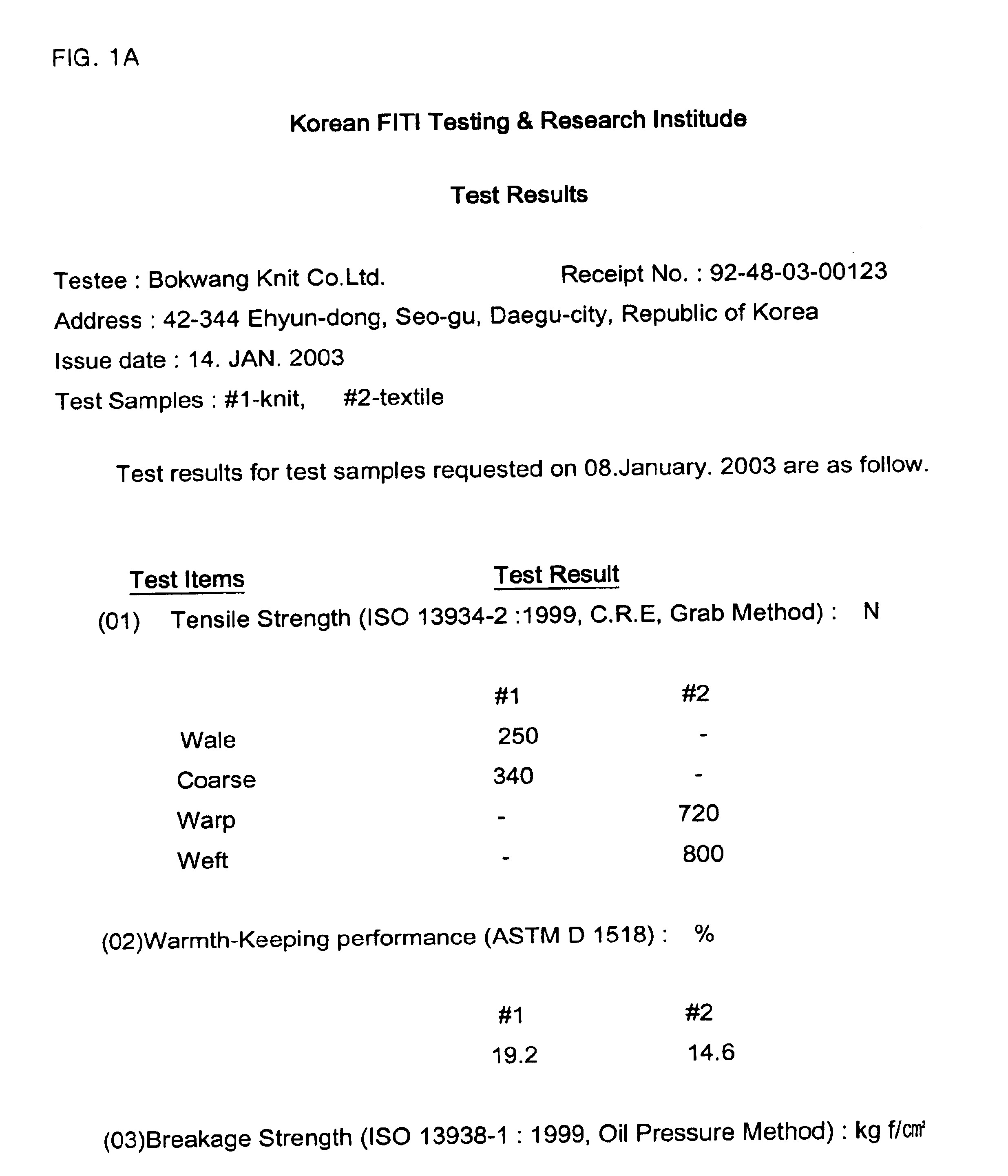 Patent US20040172982 - Knitted fabric for producing indigo