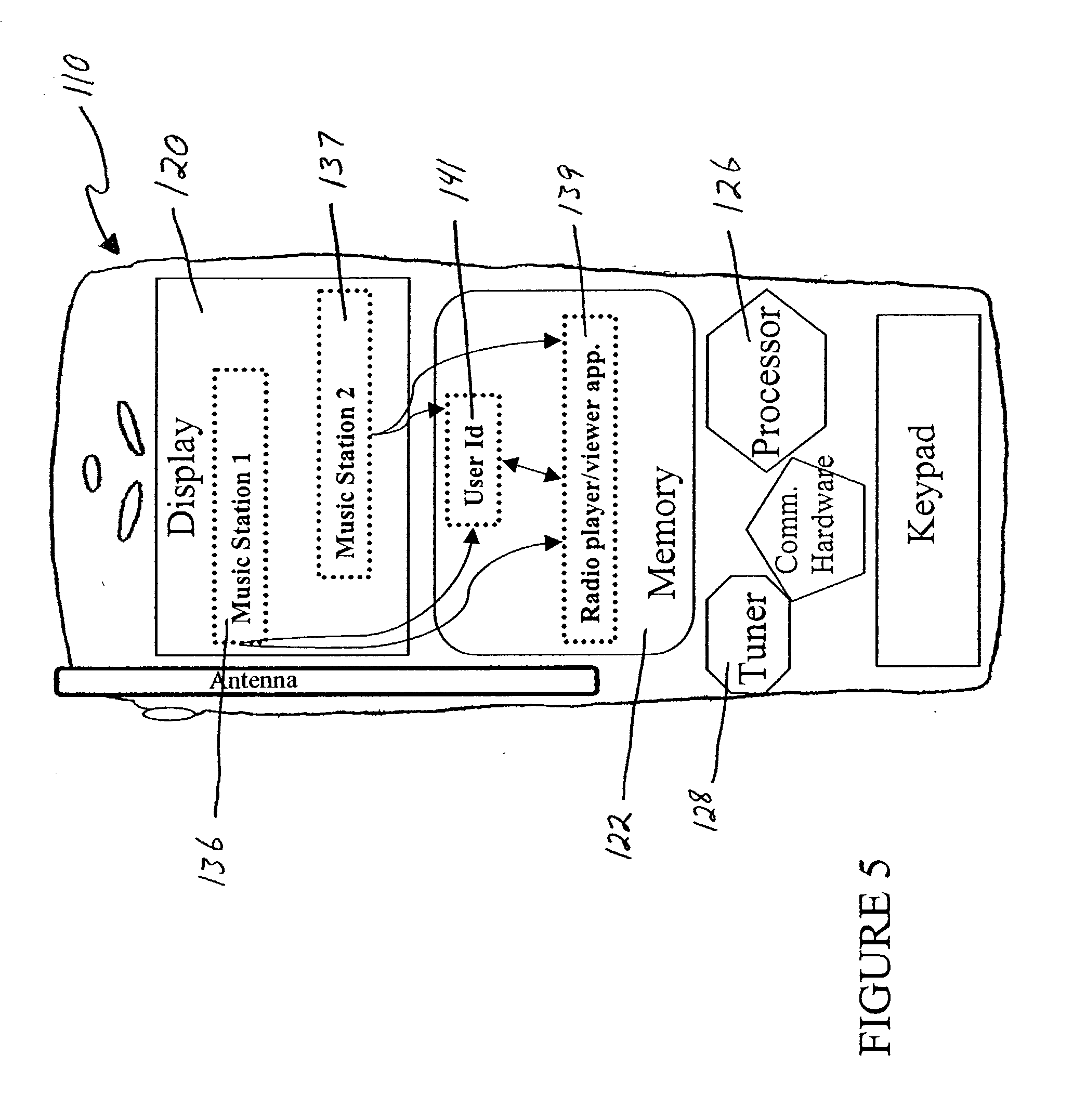Patent Us20040198279 Broadcast Media Bookmarks Google Patents Circuit Diagram Of Quiz Display With Seven Segment Indication Drawing