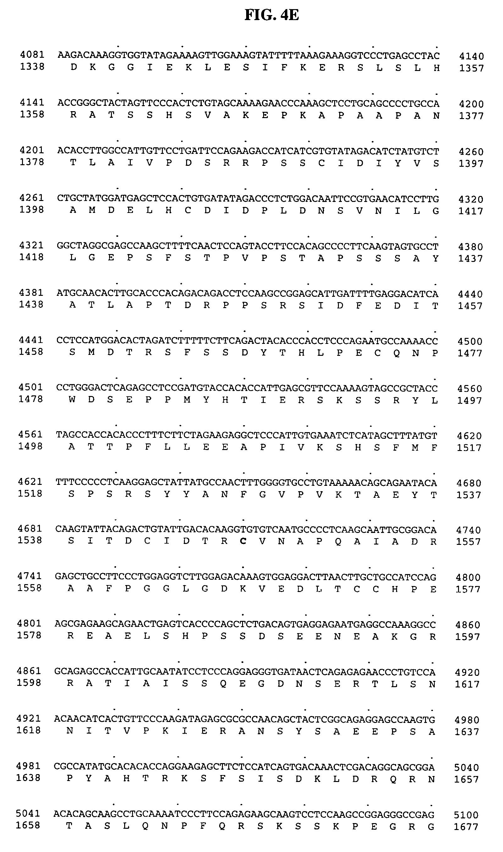 Patente US20040229315 - Polynucleotides encoding novel variants of ...